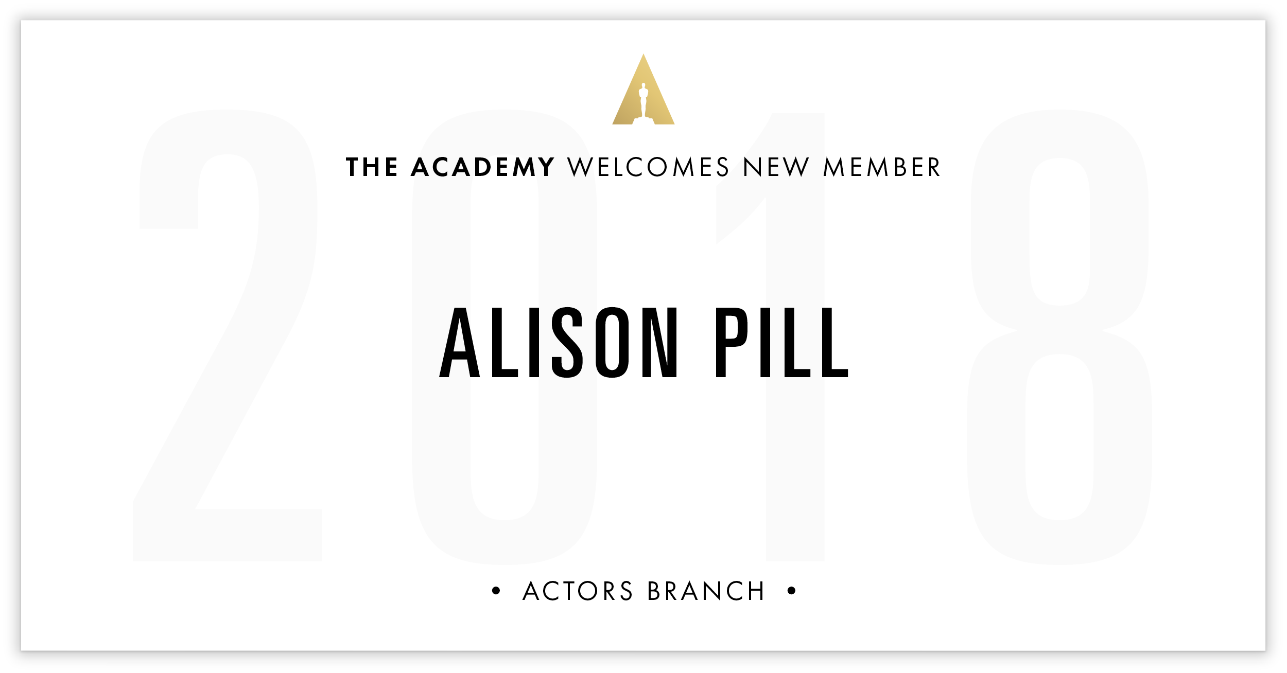 Alison Pill is invited!