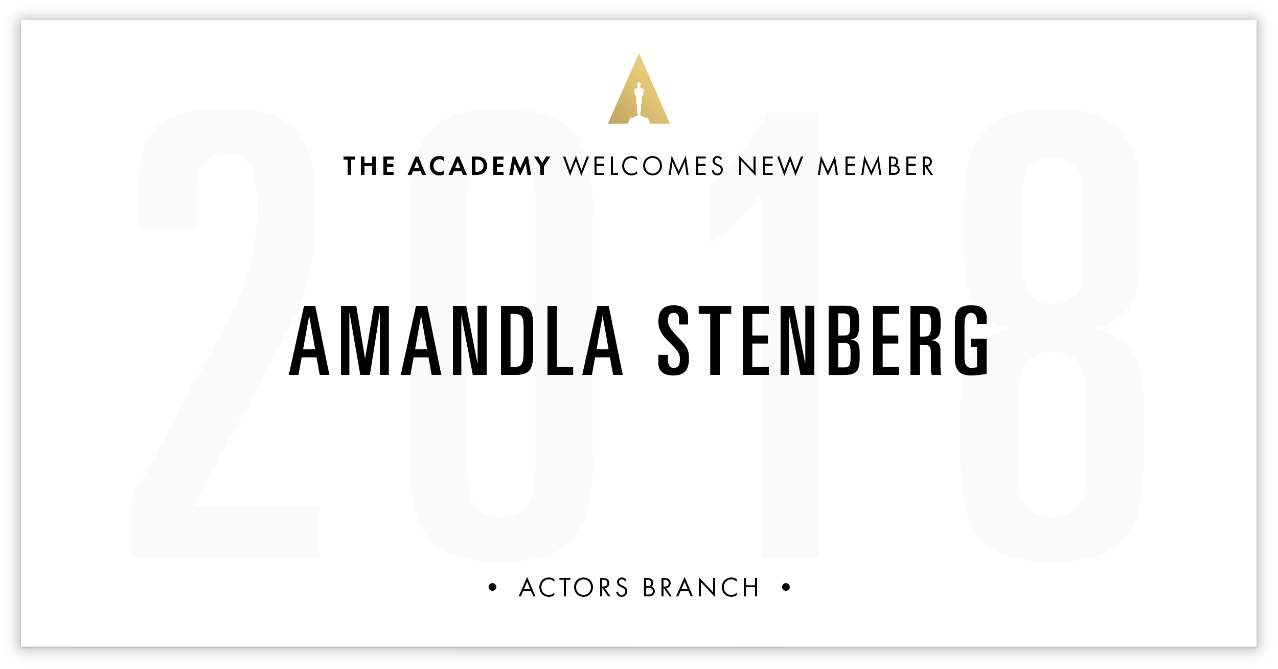 Amandla Stenberg is invited!
