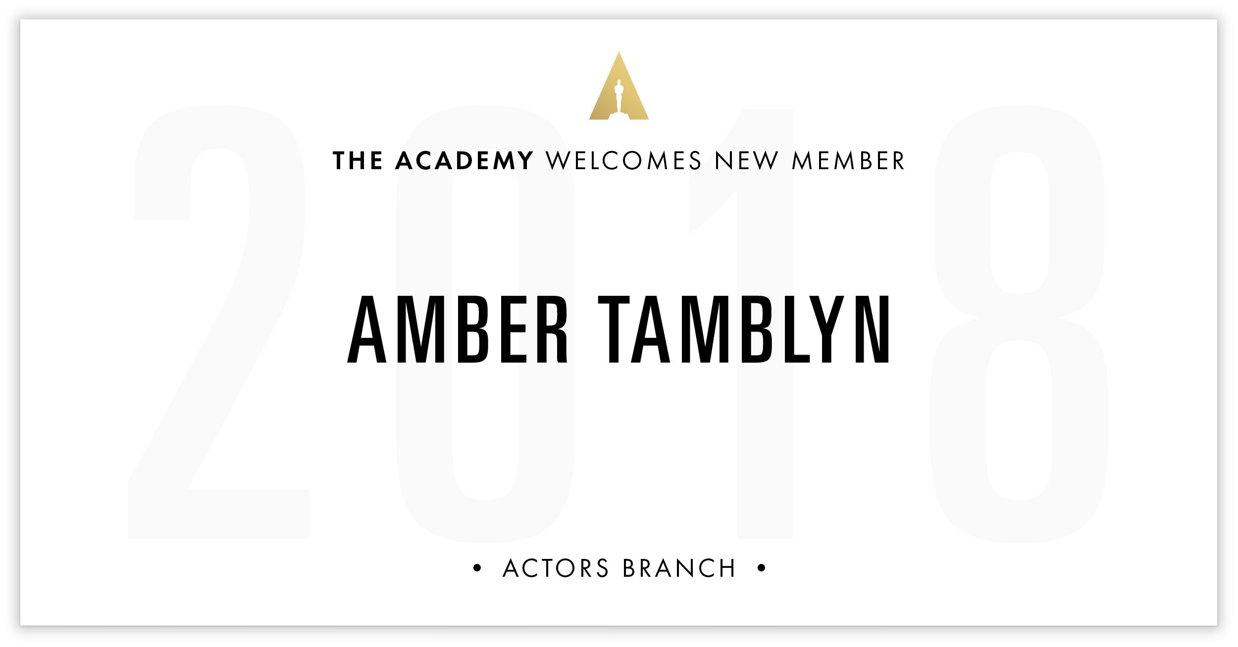 Amber Tamblyn is invited!