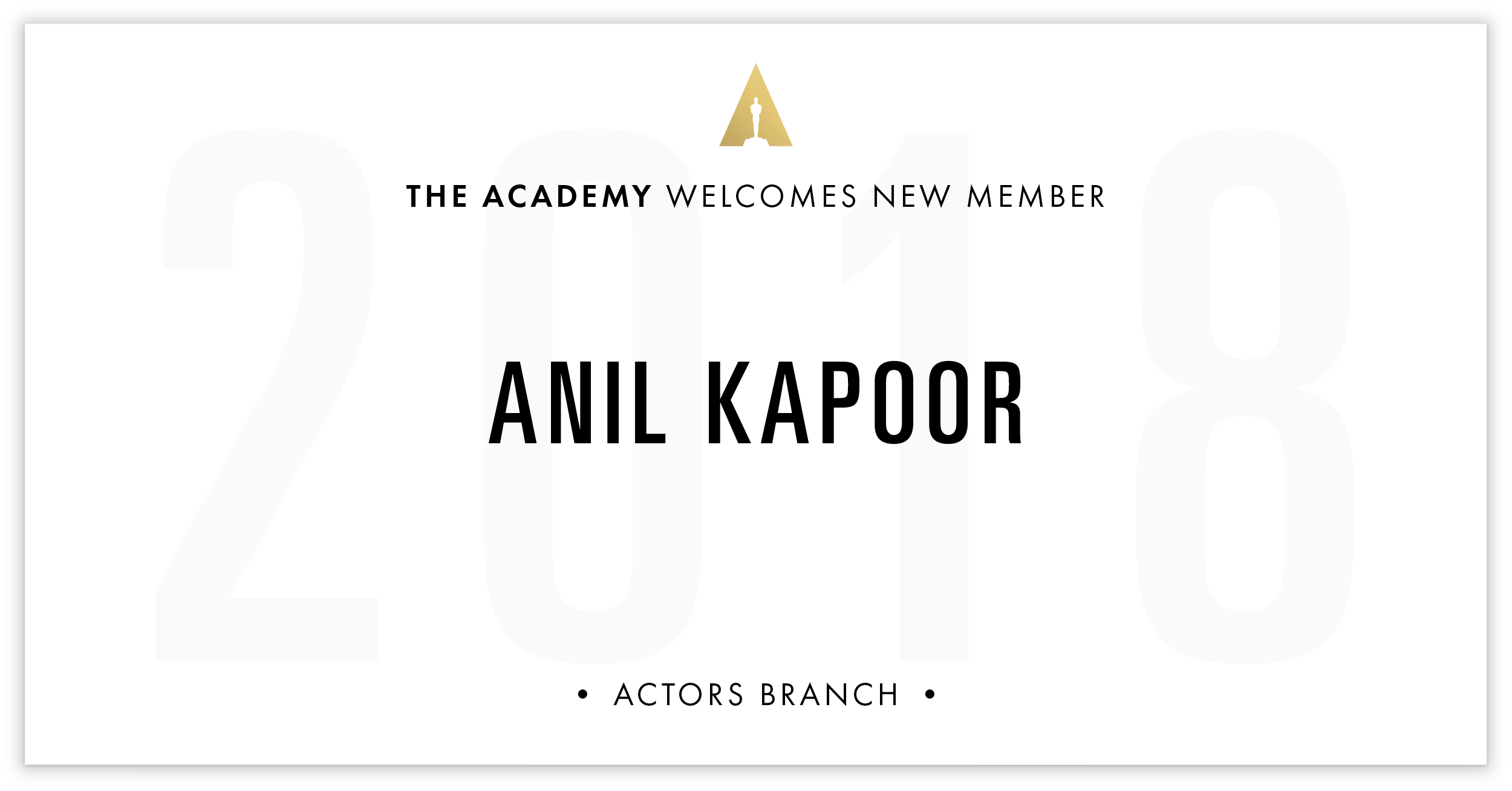 Anil Kapoor is invited!