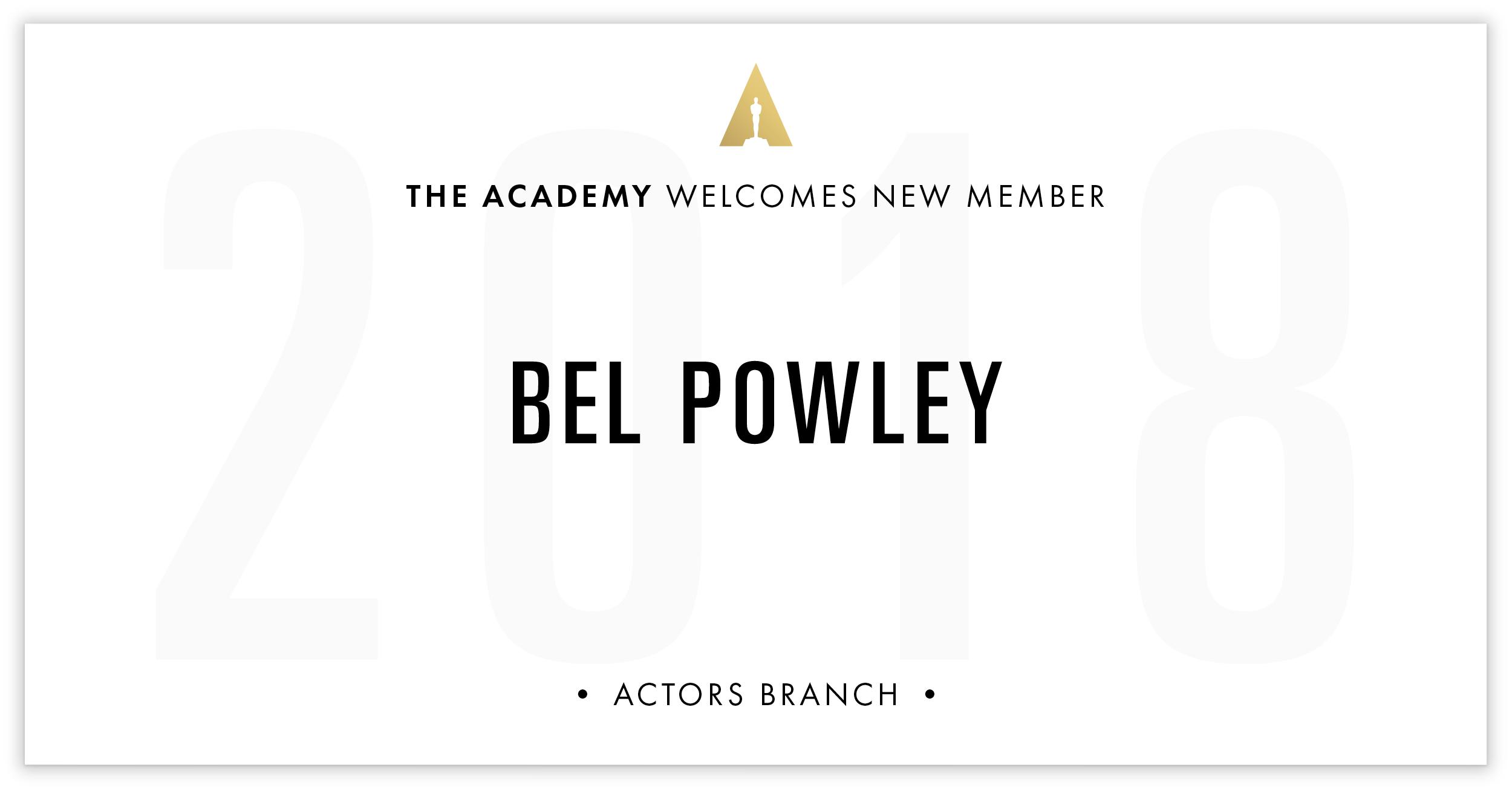 Bel Powley is invited!