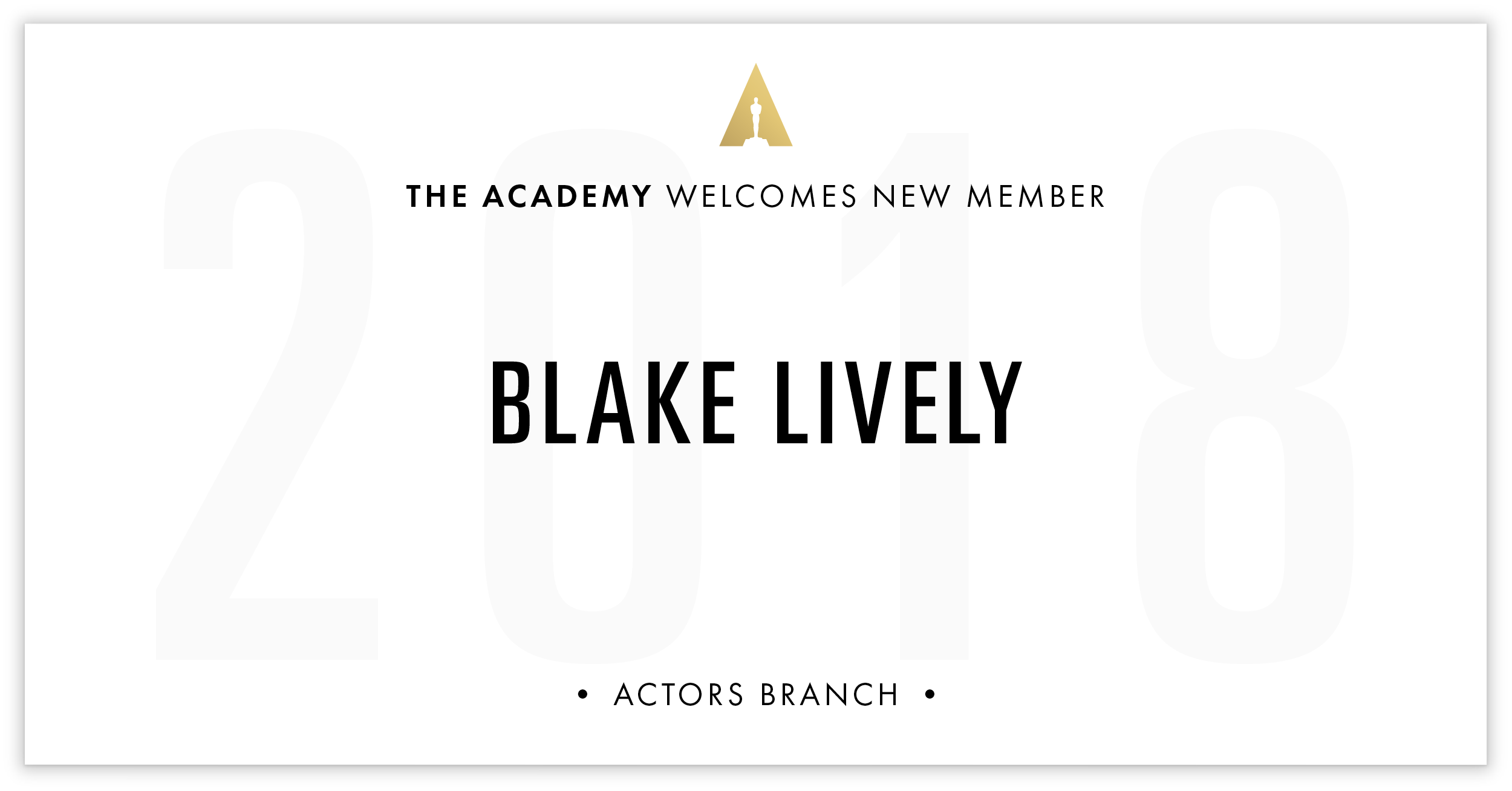 Blake Lively is invited!