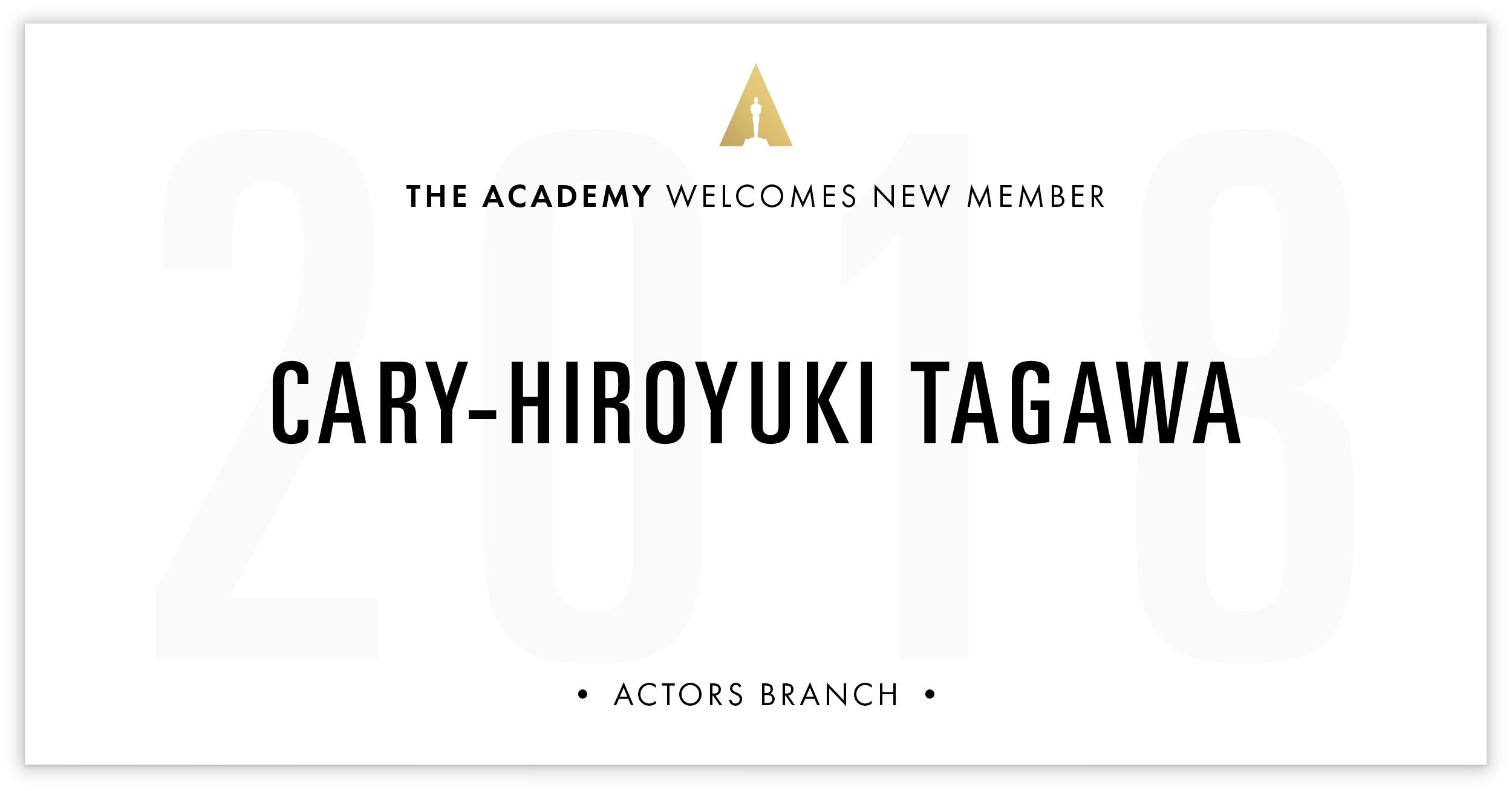 Cary-Hiroyuki Tagawa is invited!