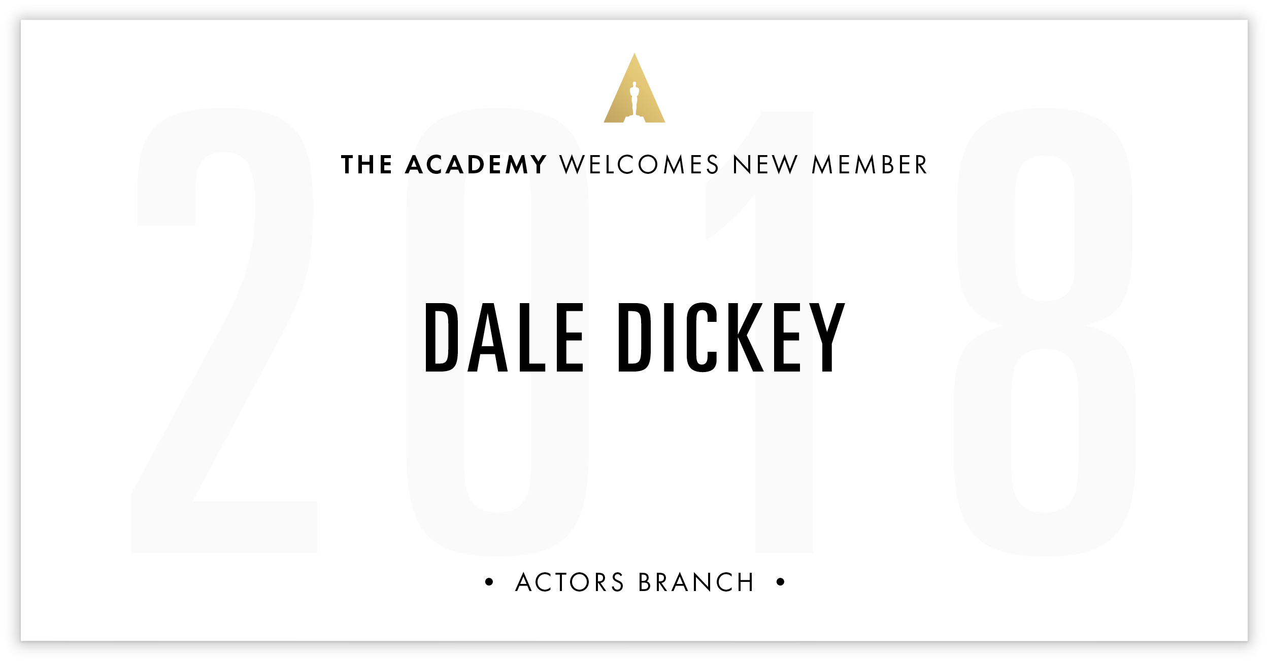 Dale Dickey is invited!
