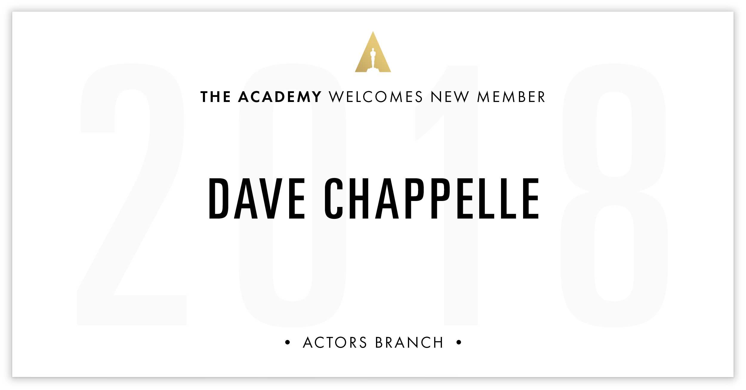Dave Chappelle is invited!