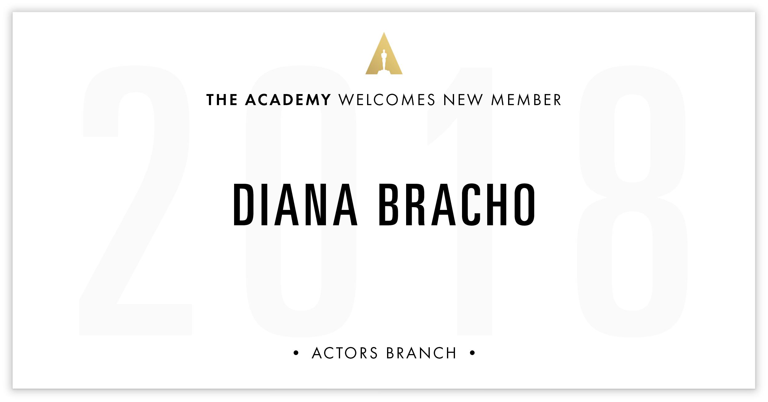 Diana Bracho is invited!