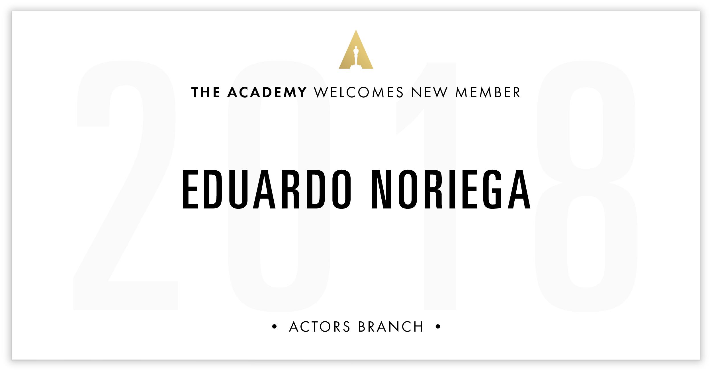 Eduardo Noriega is invited!