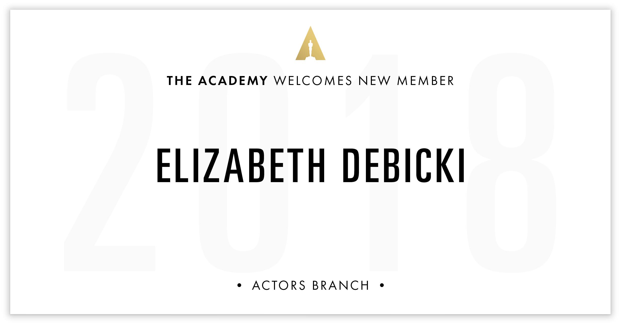 Elizabeth Debicki is invited!