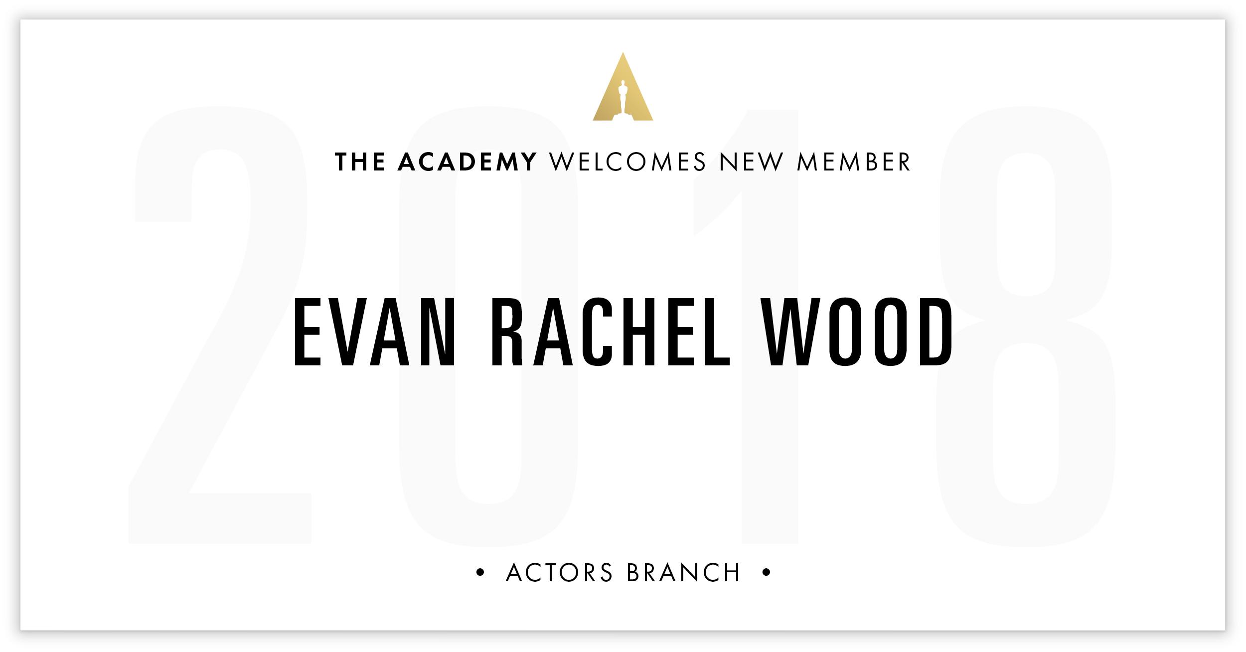 Evan Wood is invited!
