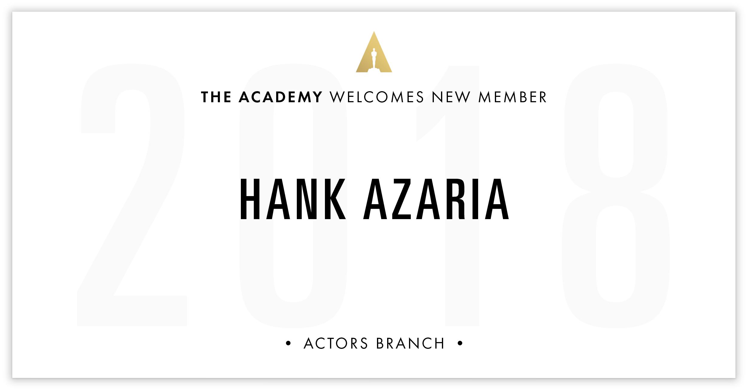 Hank Azaria is invited!