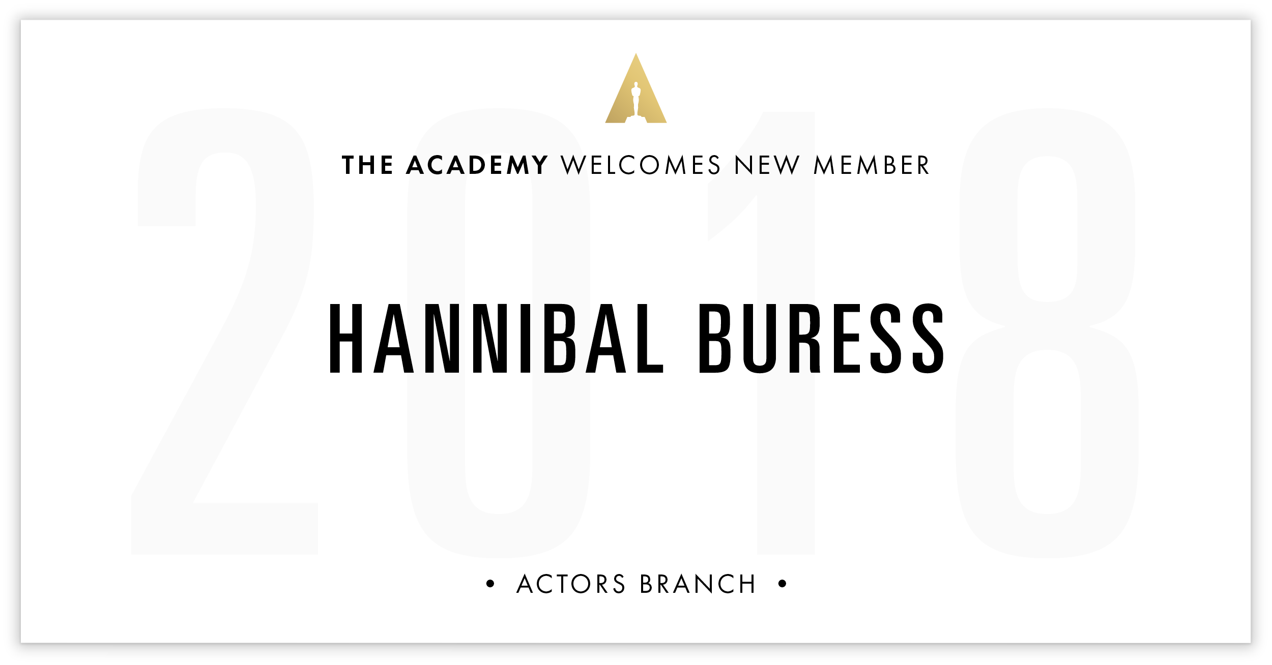 Hannibal Buress is invited!