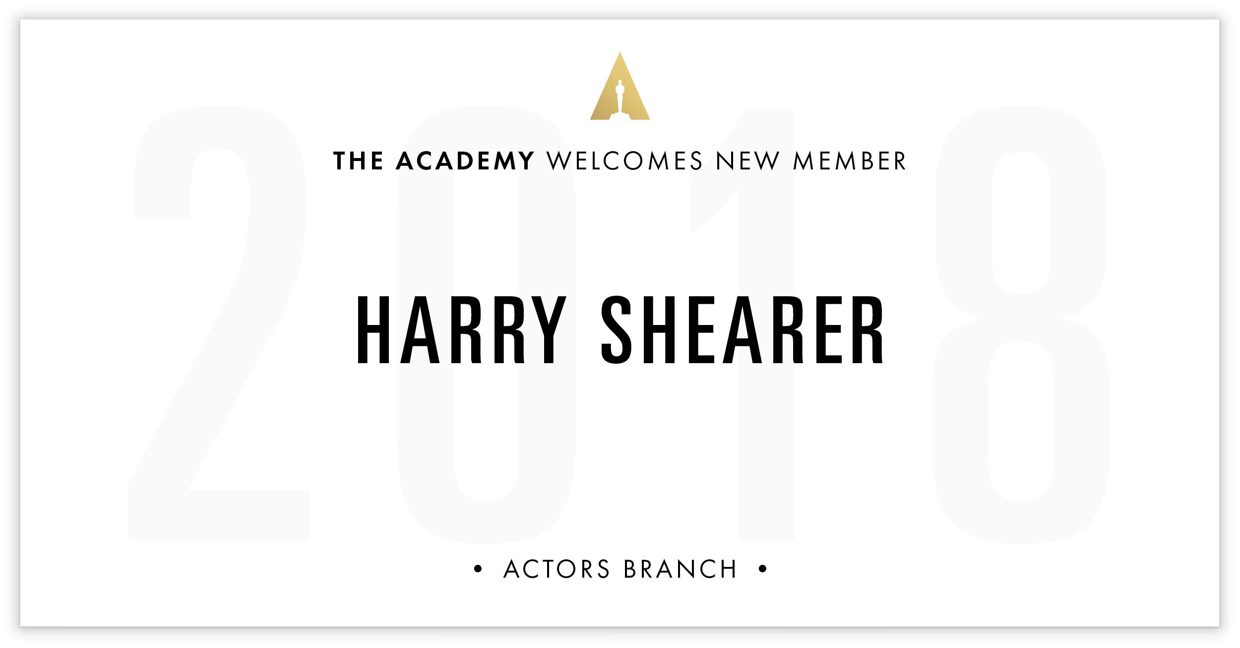 Harry Shearer is invited!