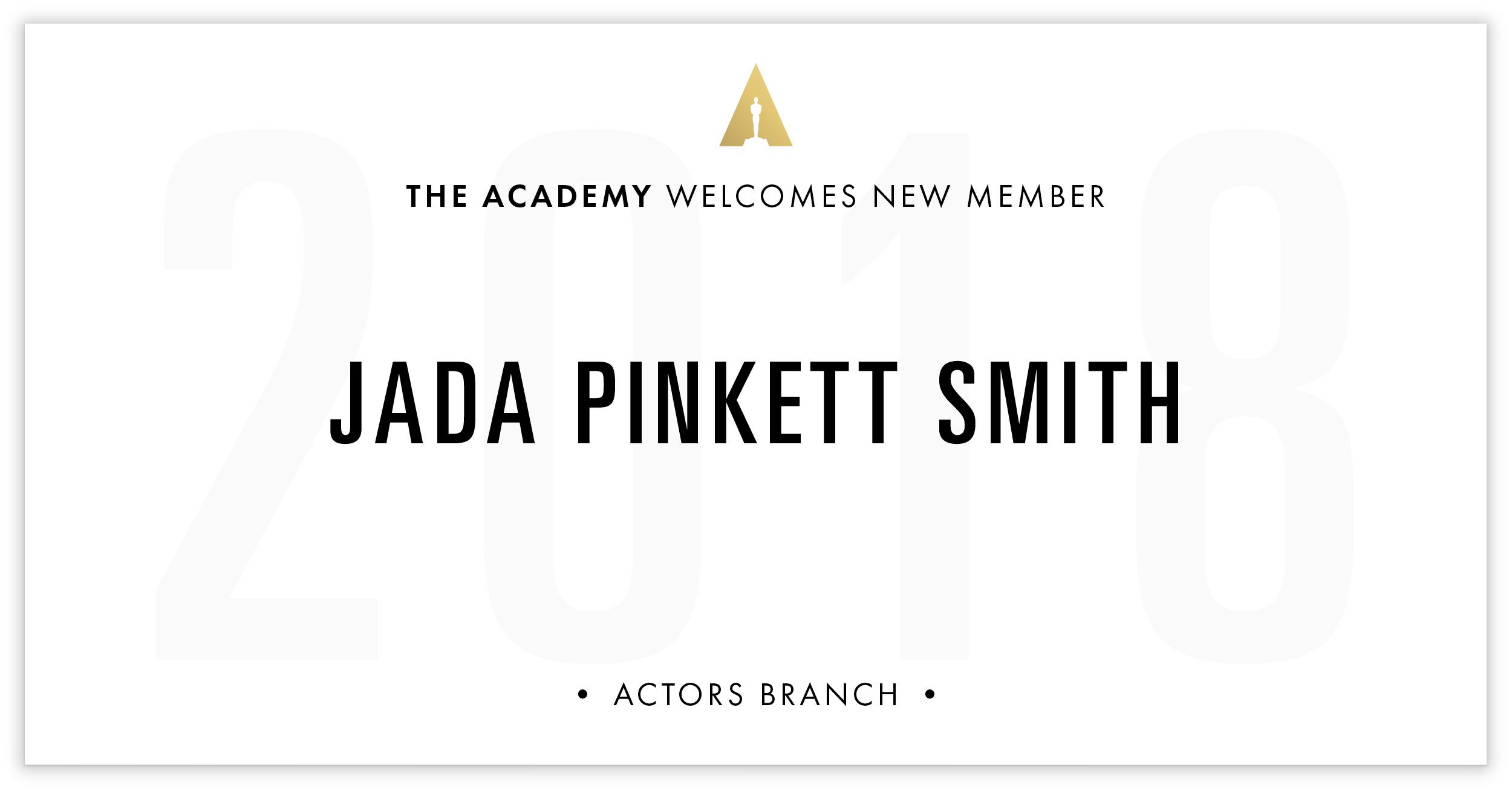 Jada Smith is invited!