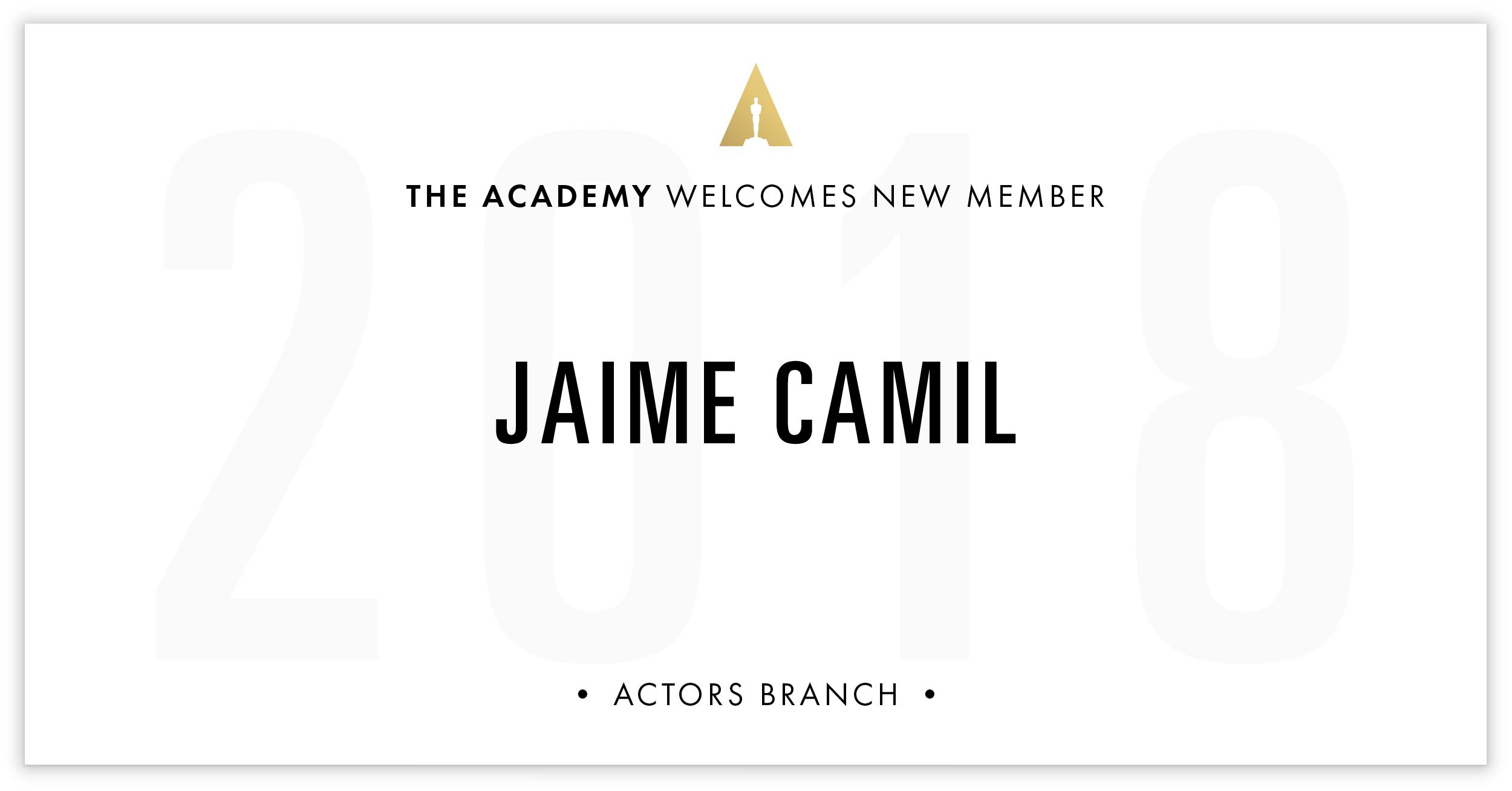 Jaime Camil is invited!
