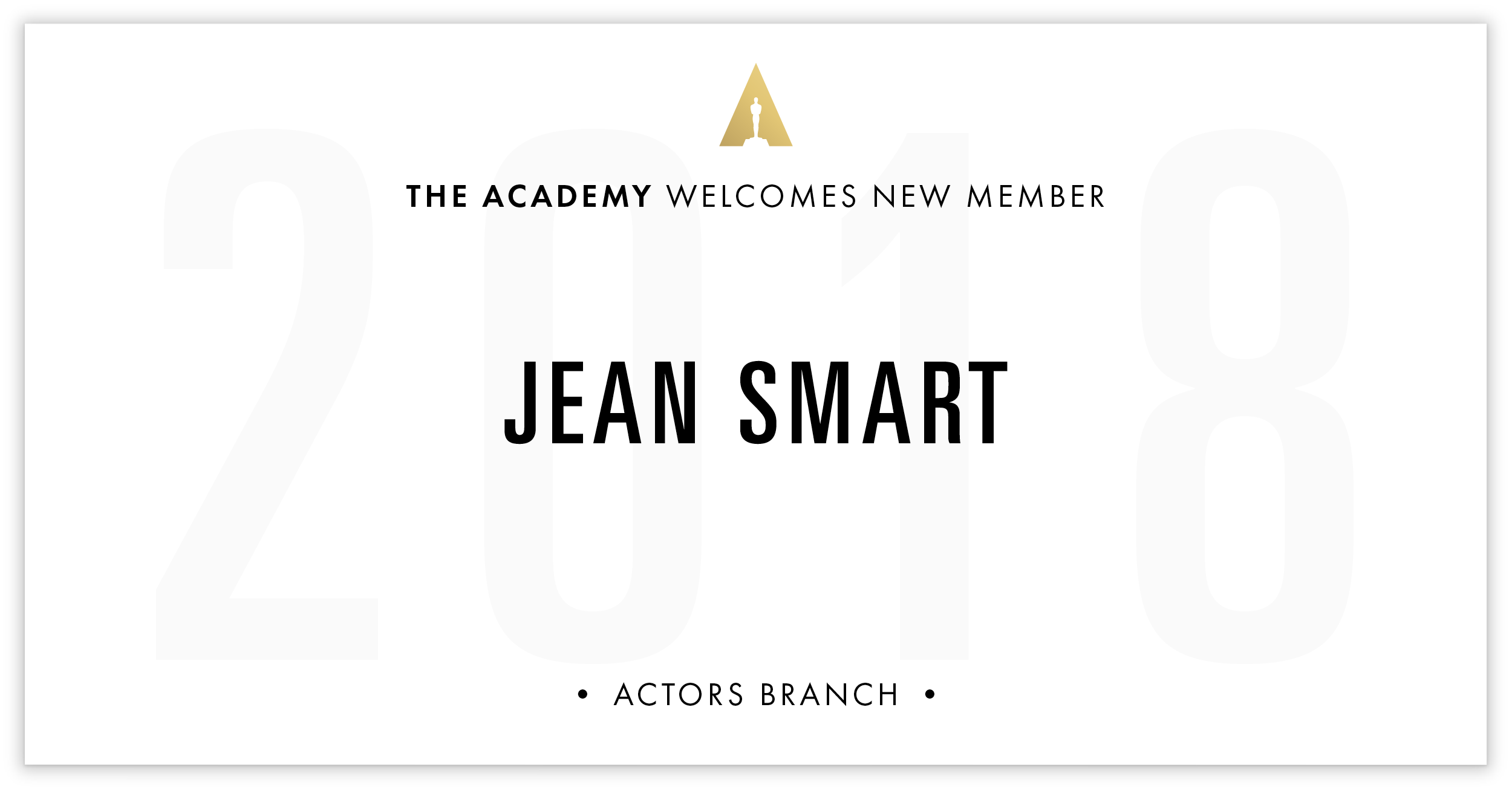 Jean Smart is invited!