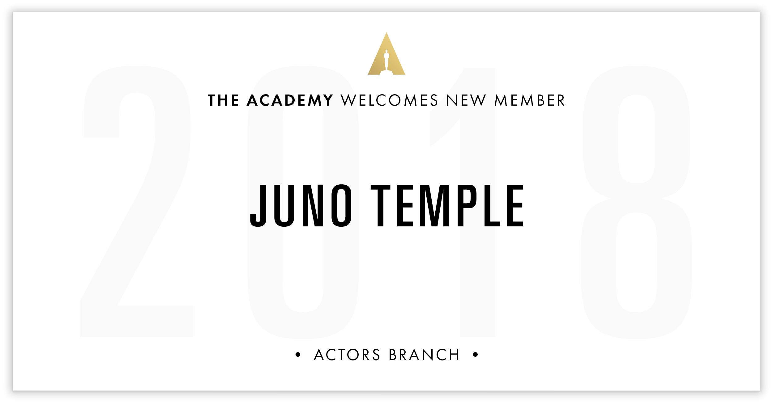 Juno Temple is invited!