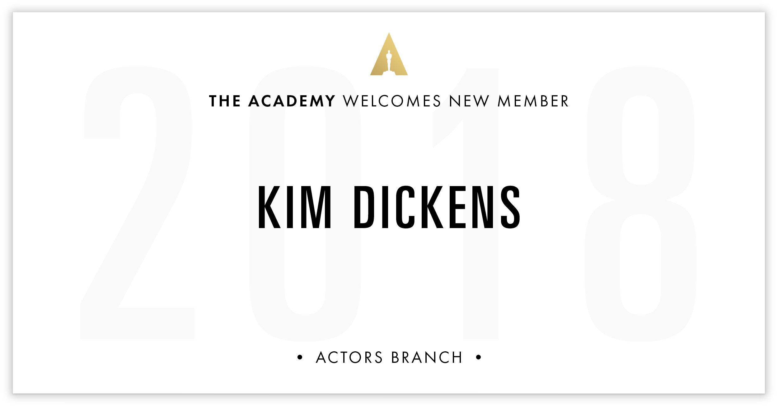 Kim Dickens is invited!