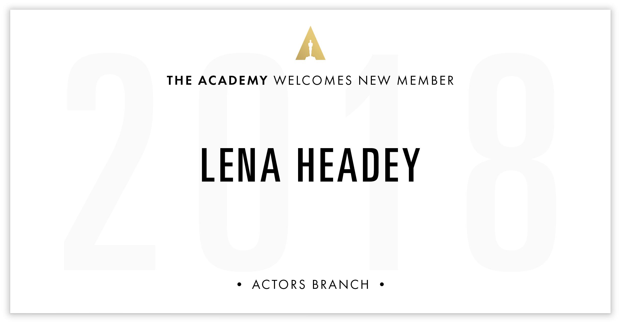 Lena Headey is invited!