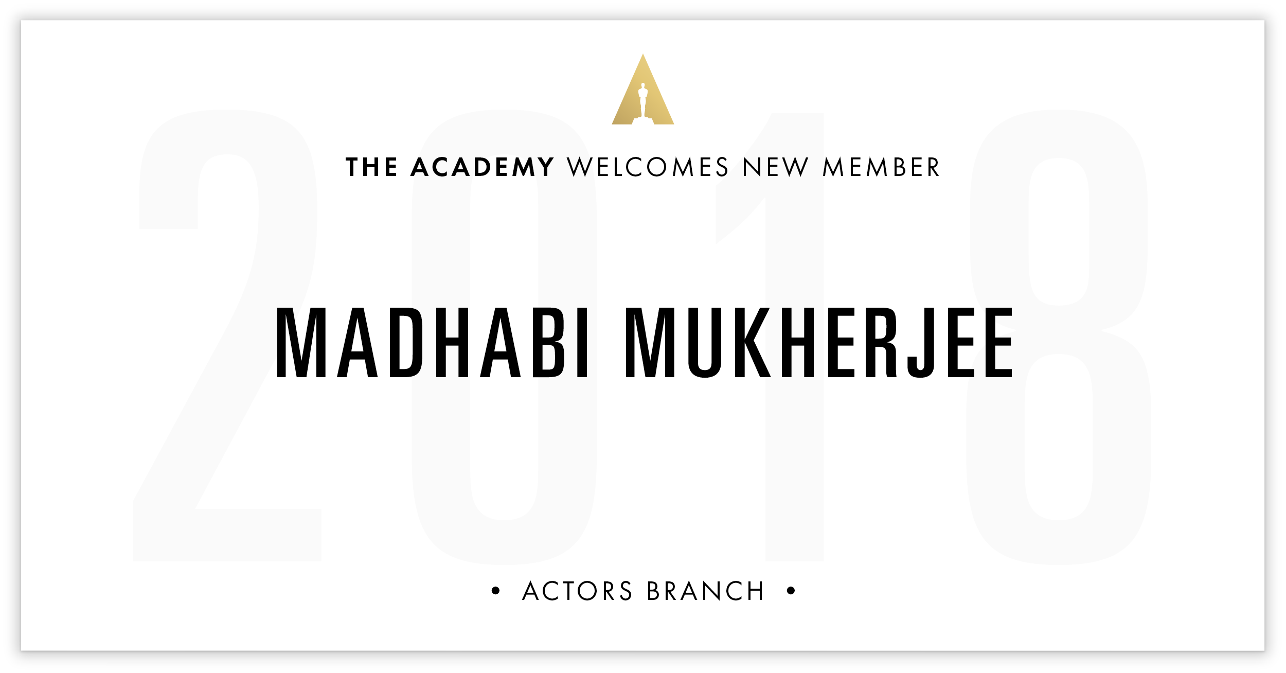 Madhabi Mukherjee is invited!