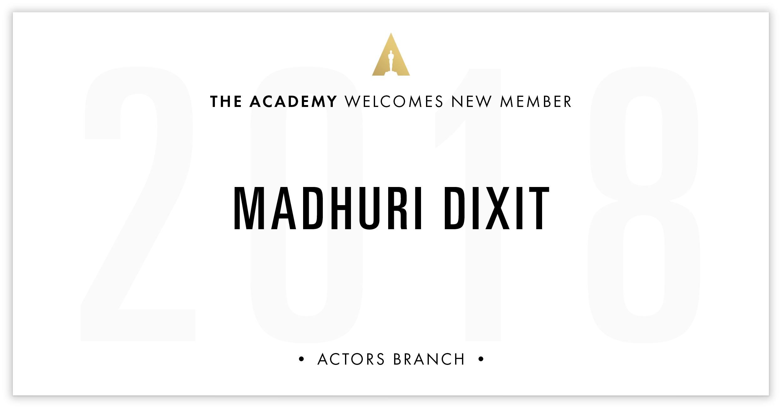 Madhuri Dixit is invited!