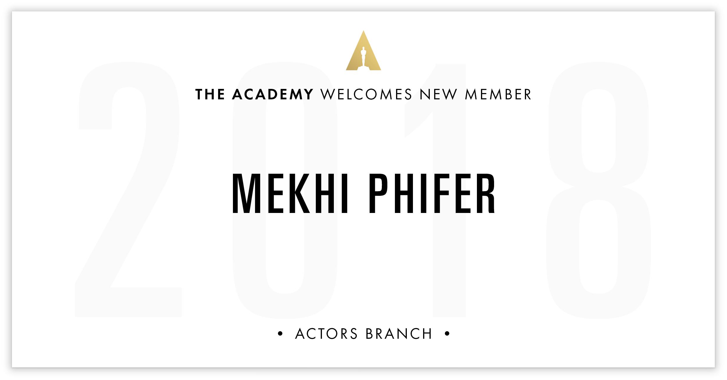Mekhi Phifer is invited!