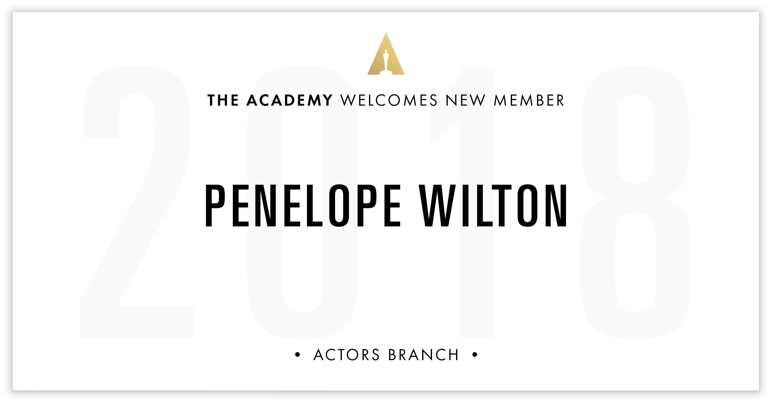 Penelope Wilton is invited!