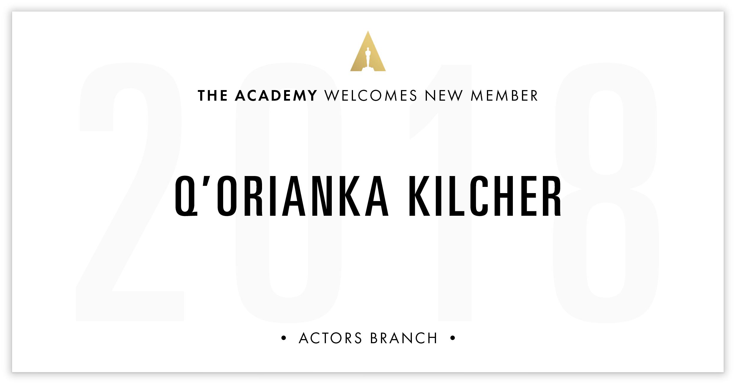 Q'orianka Kilcher is invited!