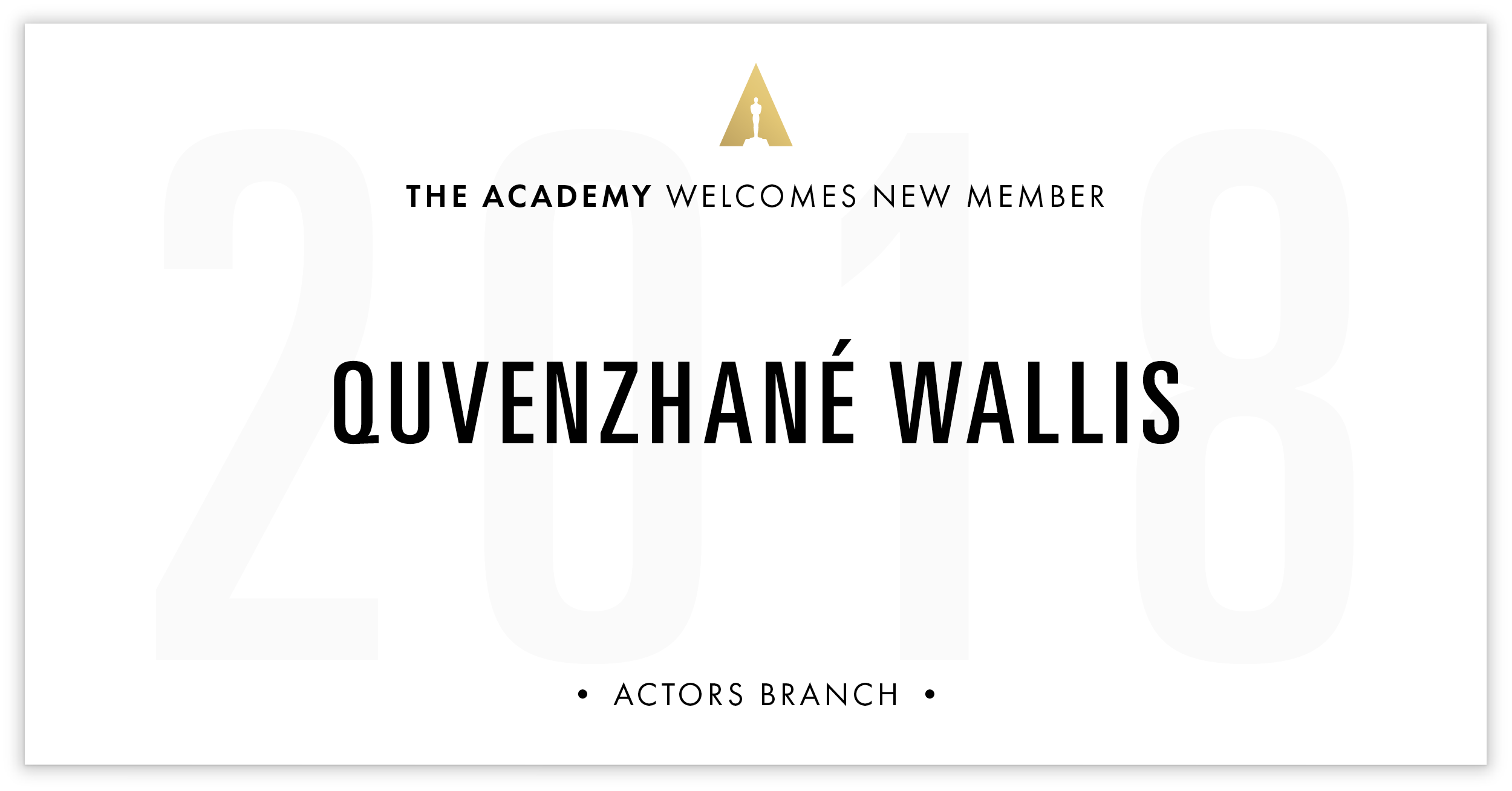 Quvenzhané Wallis is invited!