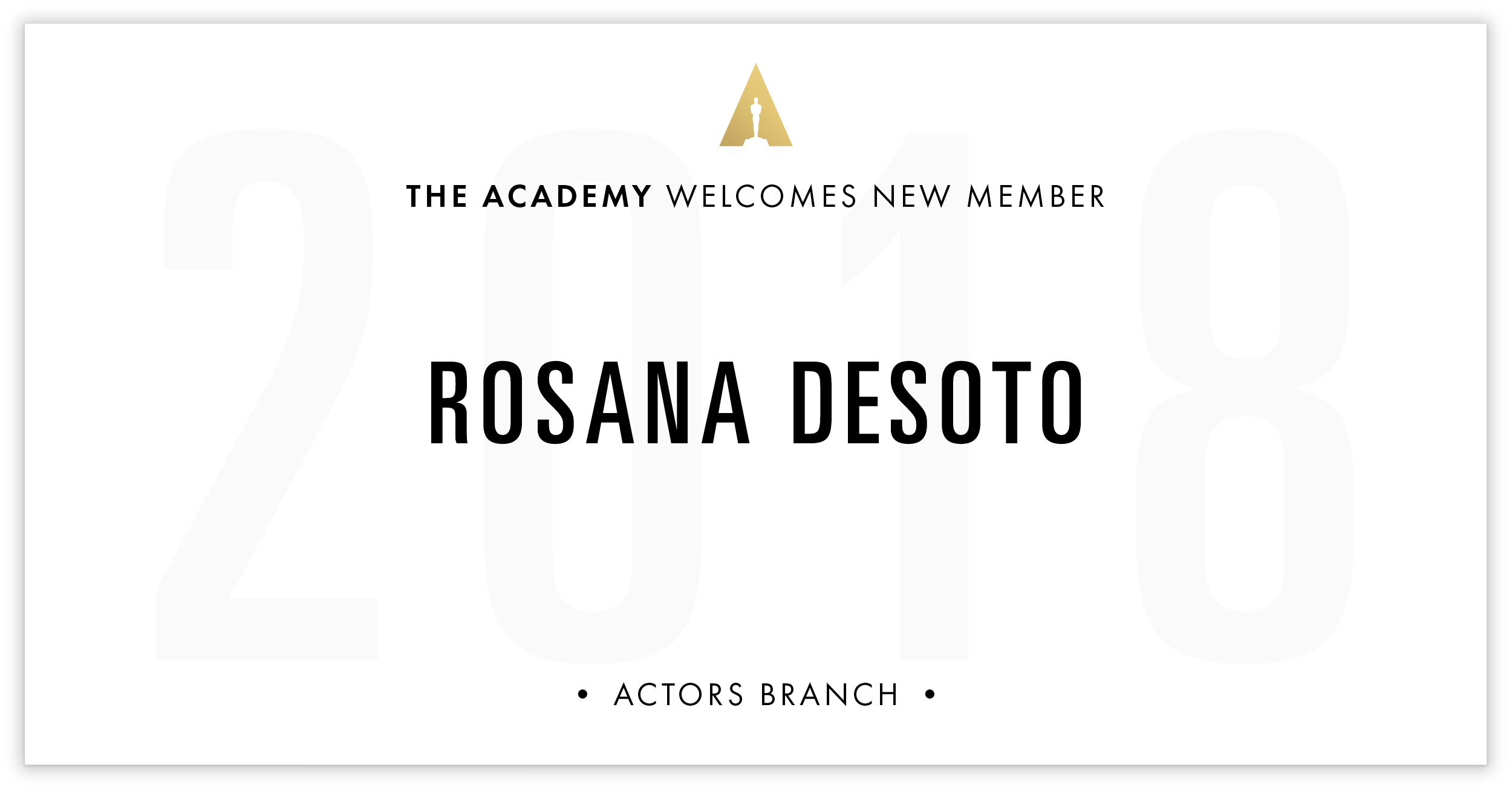 Rosana DeSoto is invited!