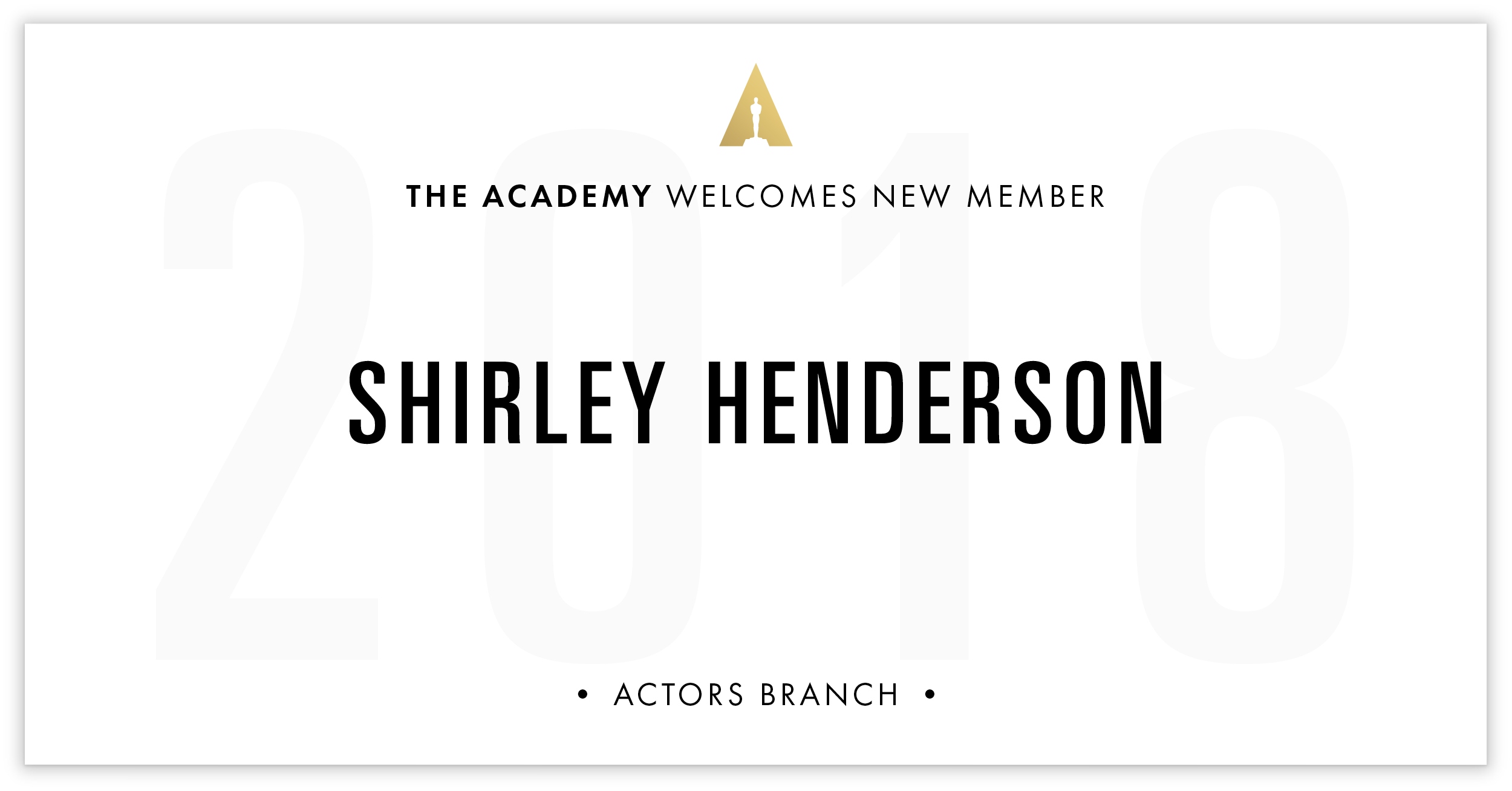 Shirley Henderson is invited!