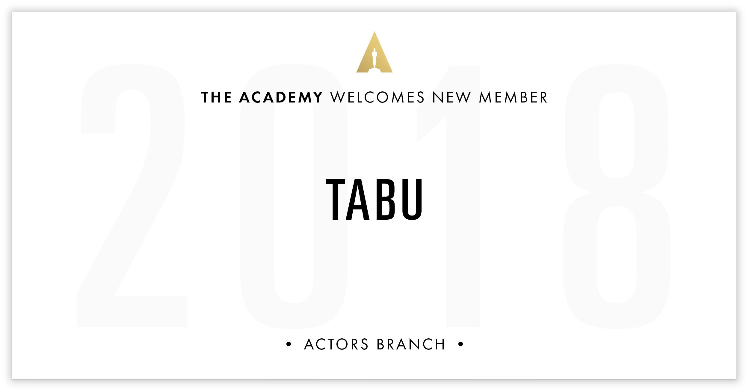 Tabu is invited!