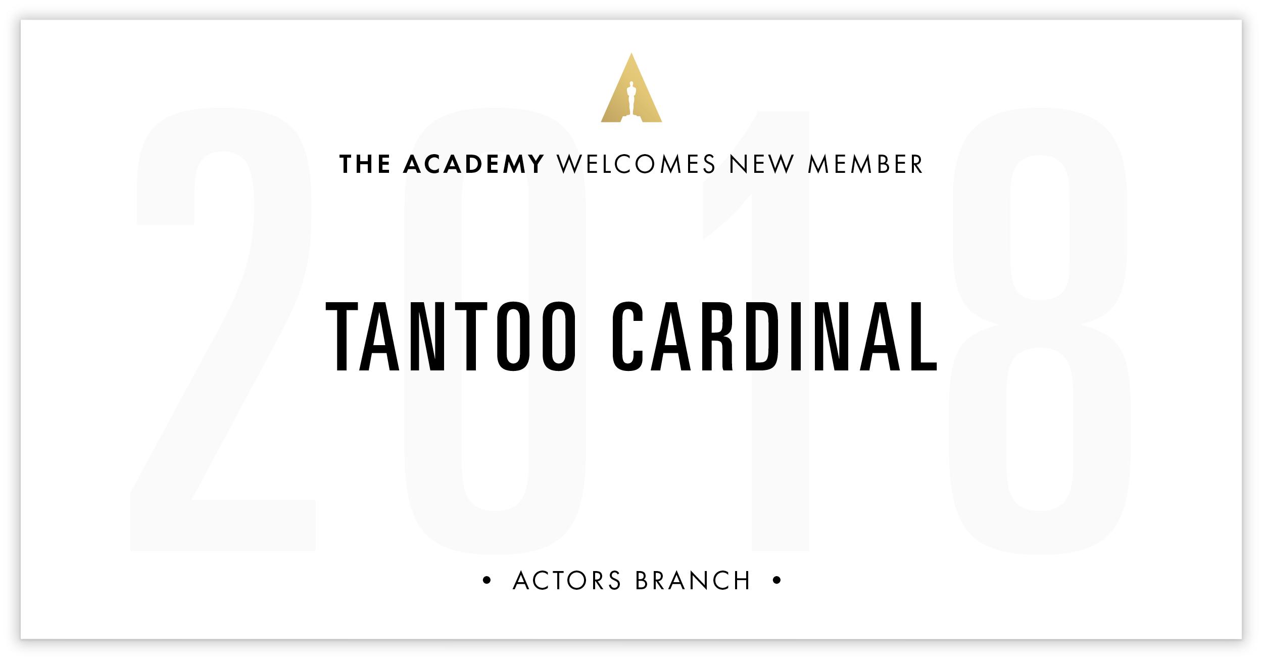 Tantoo Cardinal is invited!