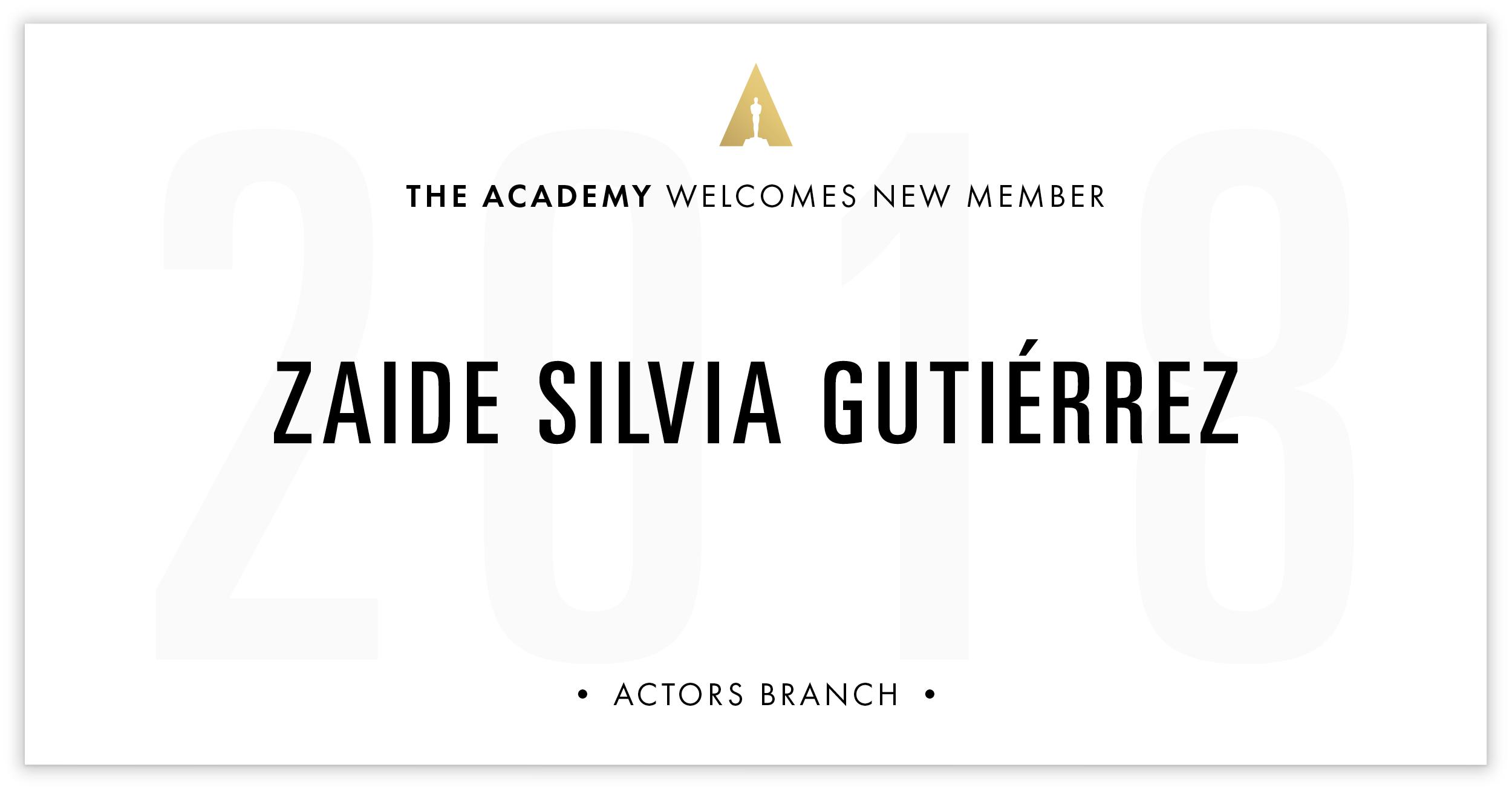 Zaide Gutiérrez is invited!