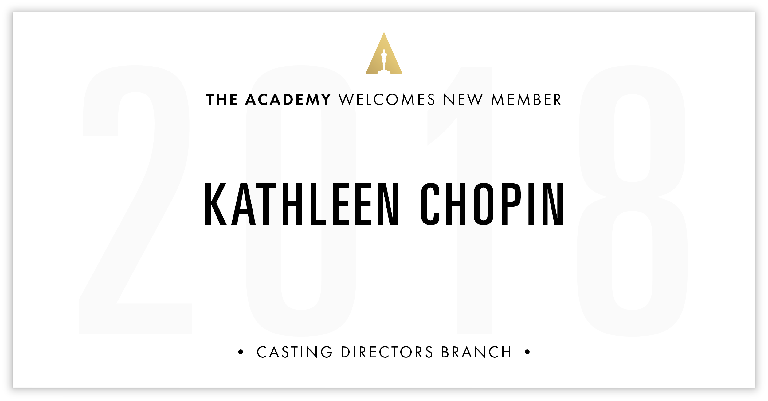 Kathleen Chopin is invited!