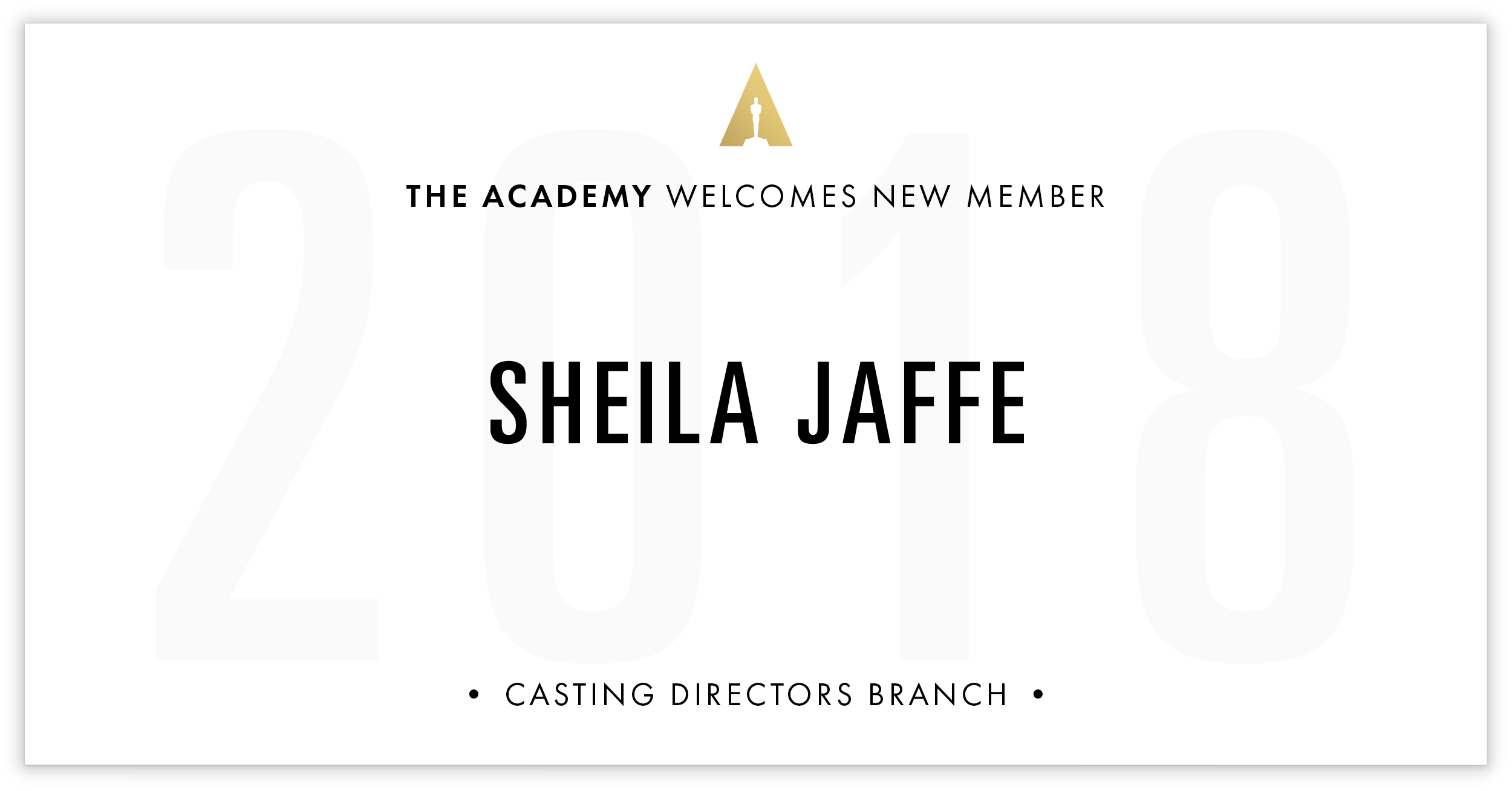 Sheila Jaffe is invited!