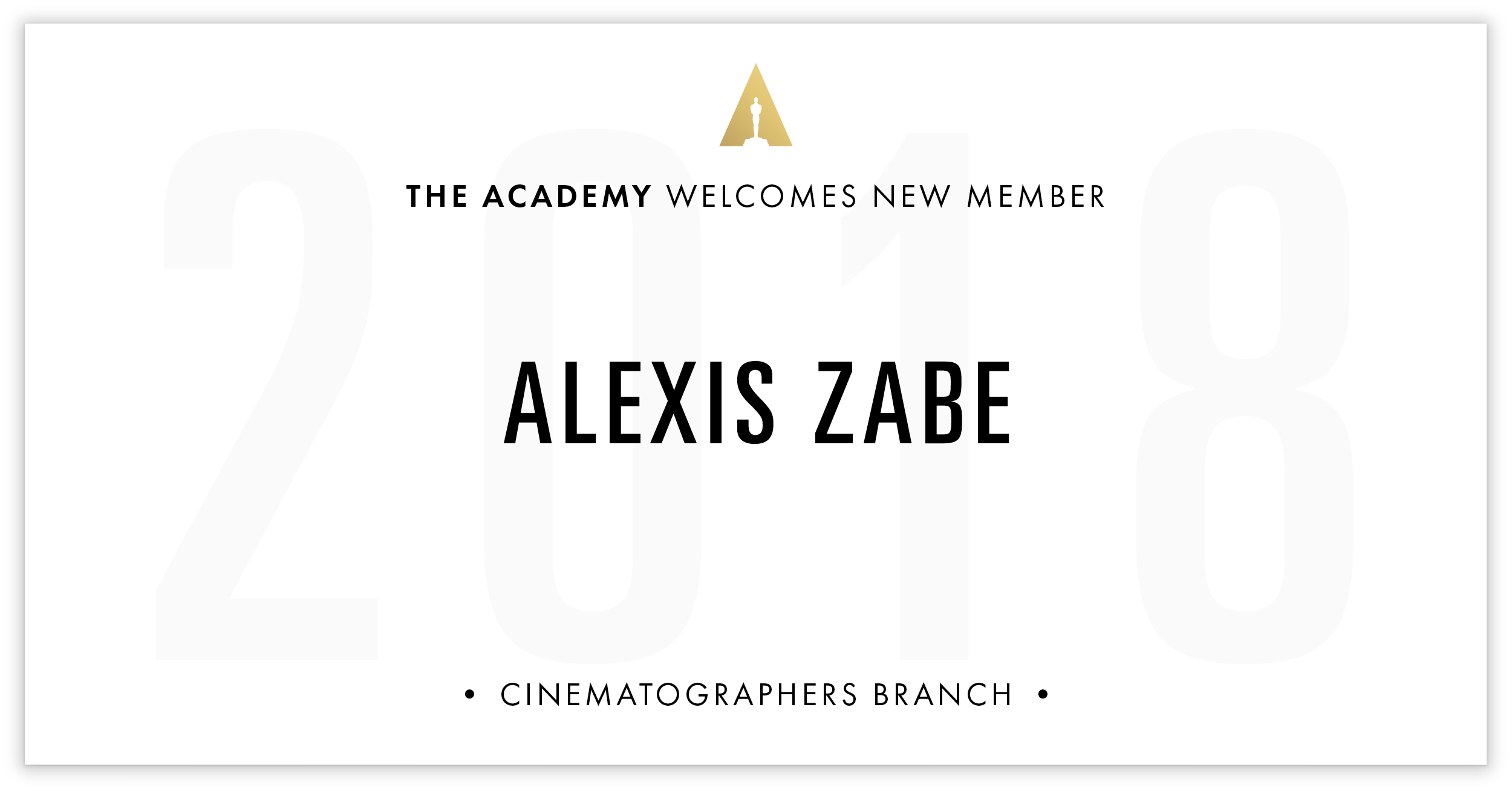 Alexis Zabe is invited!