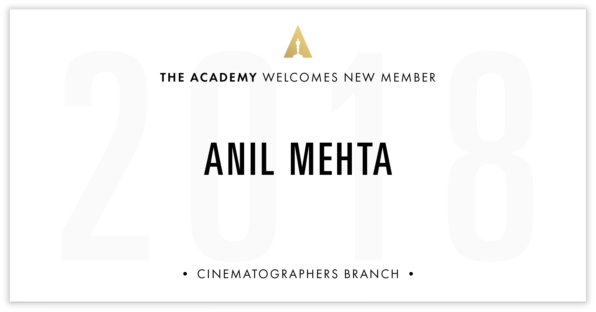 Anil Mehta is invited!