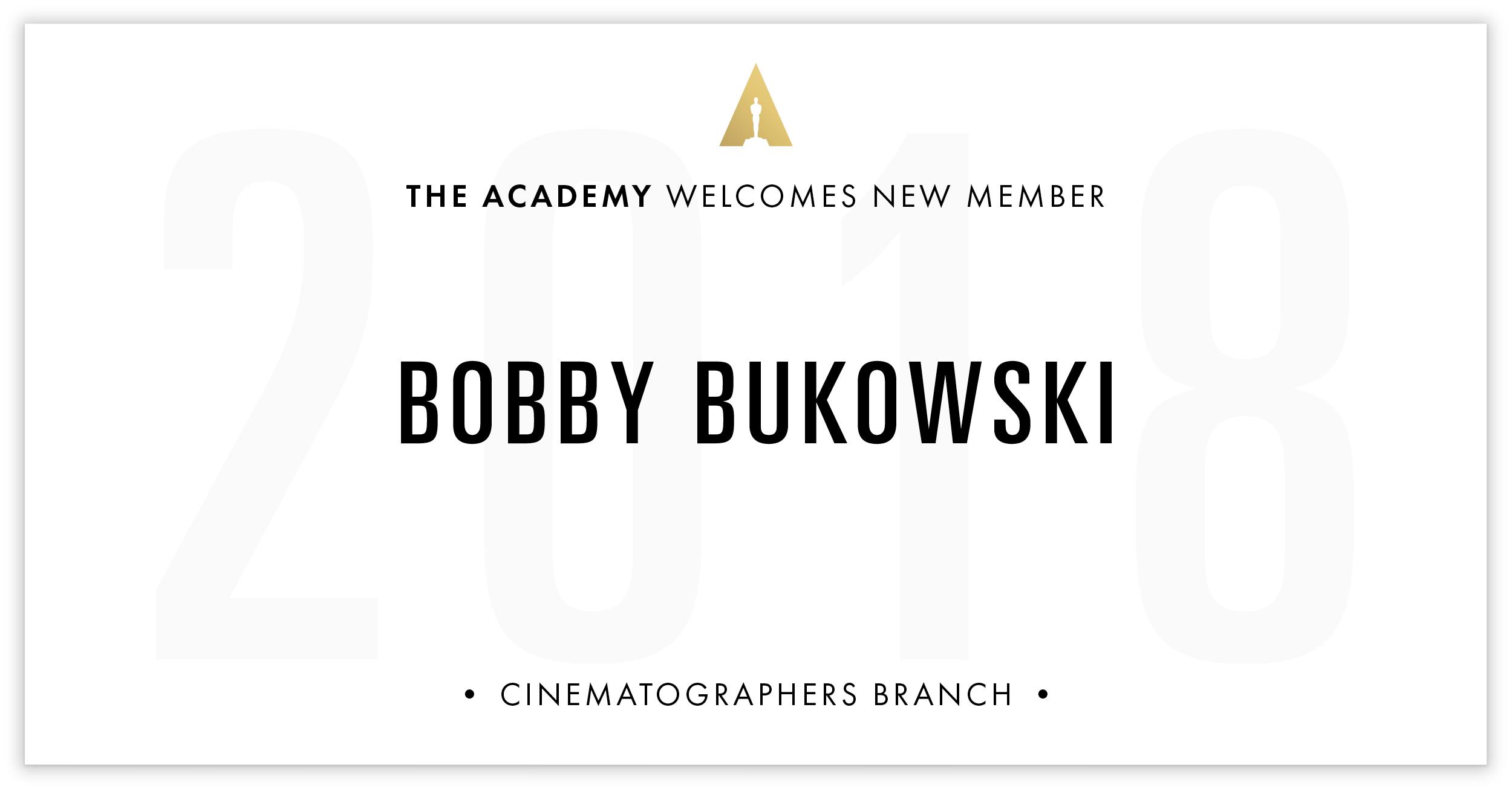 Bobby Bukowski is invited!