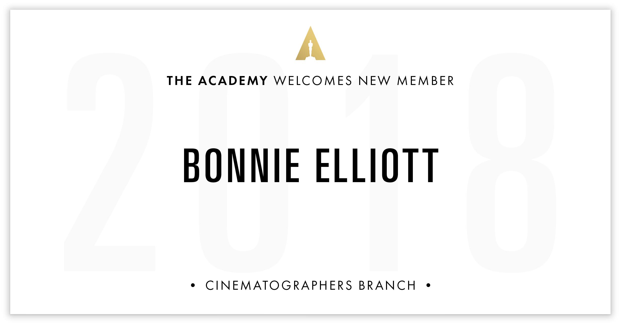 Bonnie Elliott is invited!