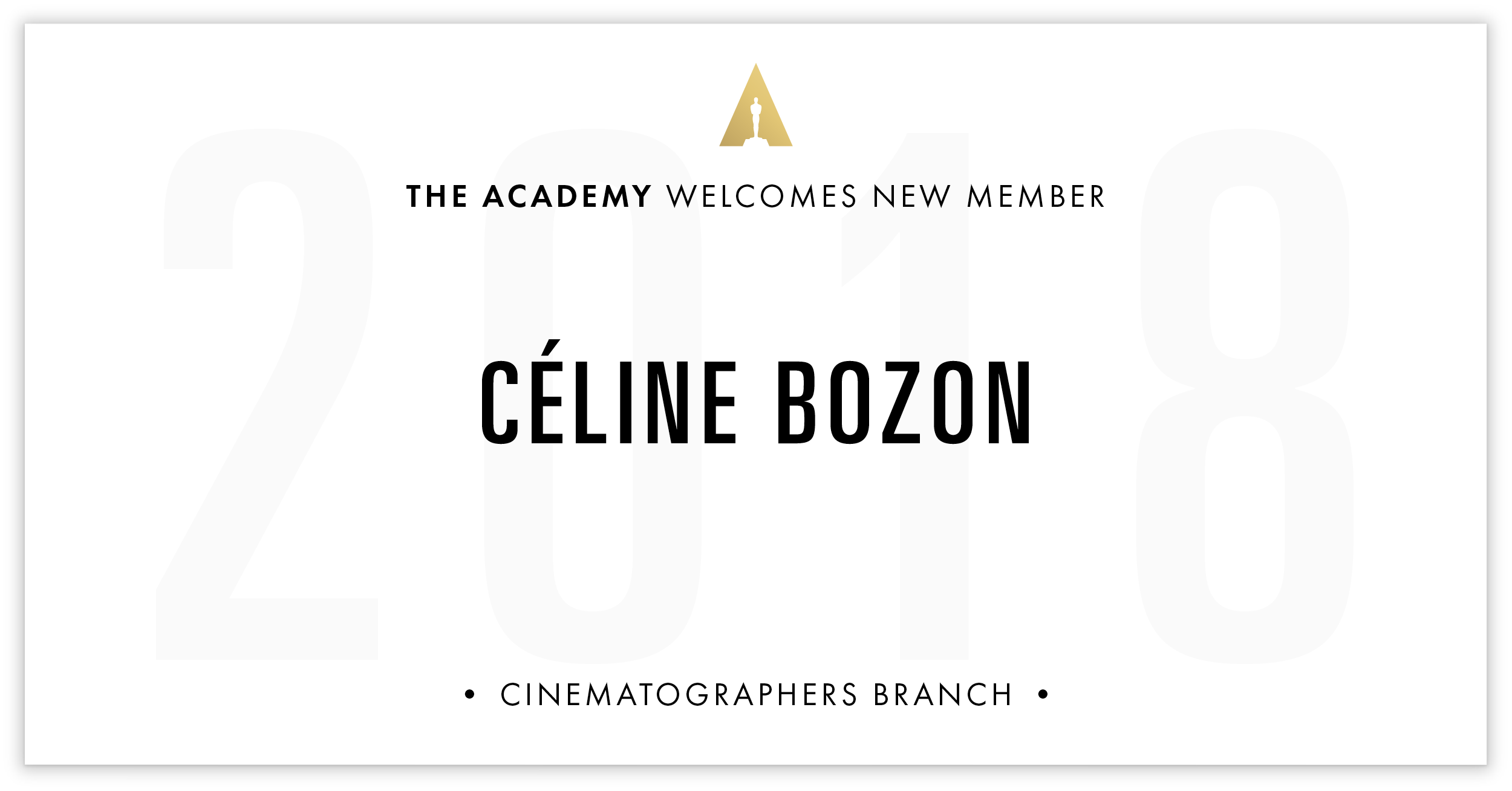 Céline Bozon is invited!