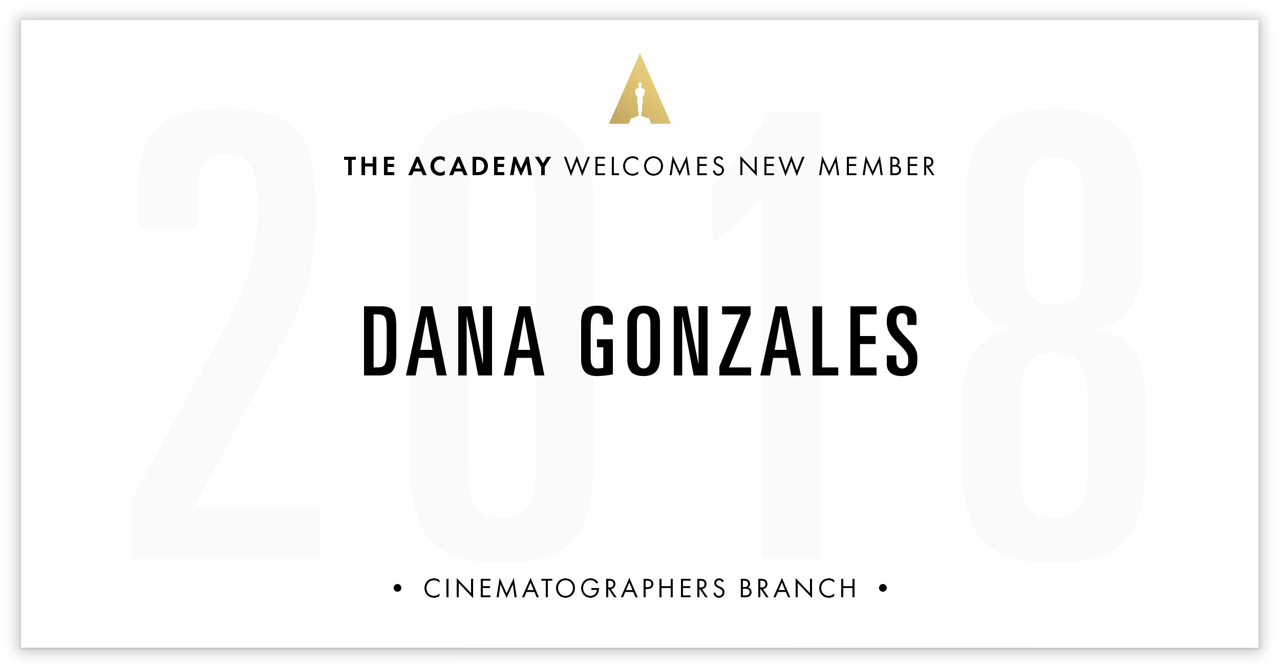Dana Gonzales is invited!