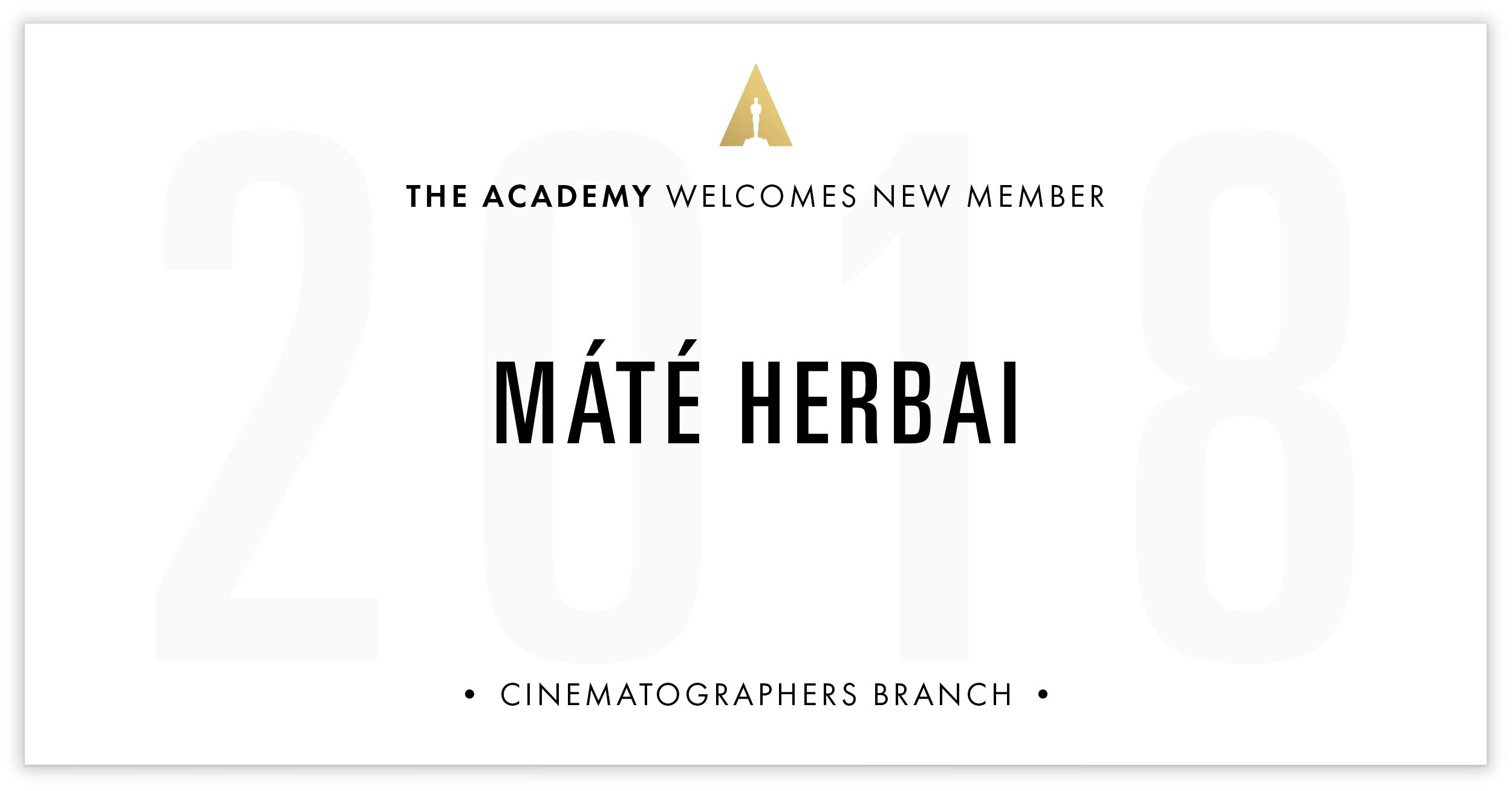 Máté Herbai is invited!