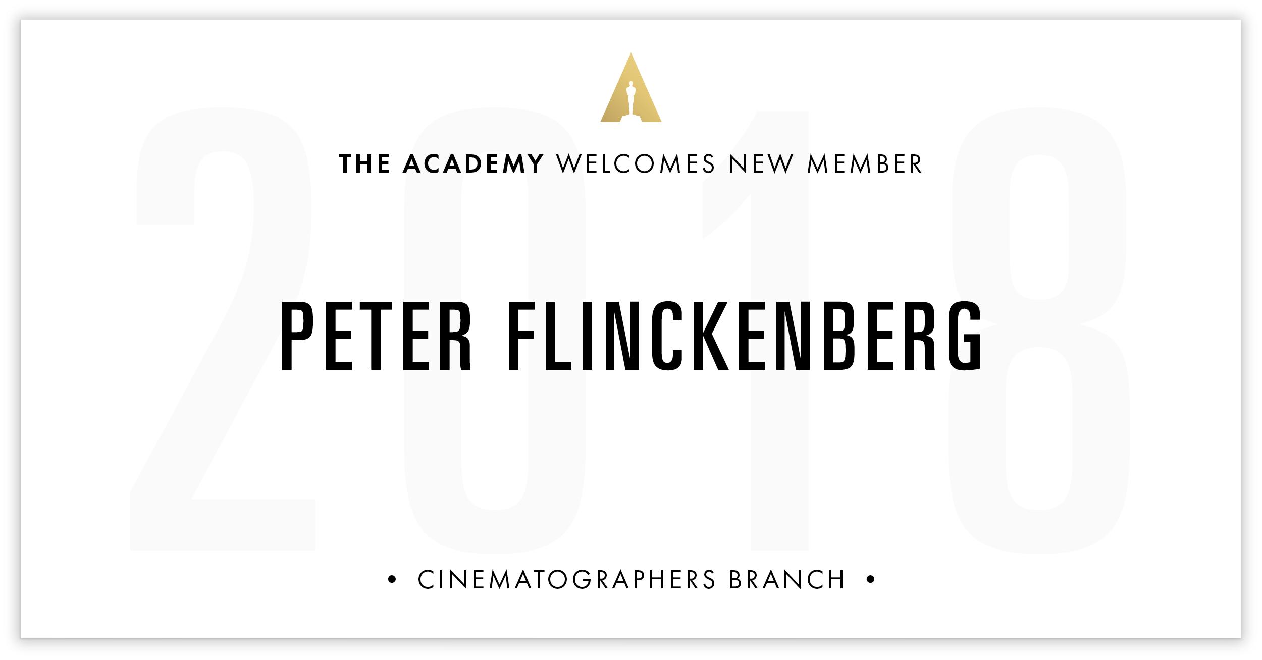 Peter Flinckenberg is invited!