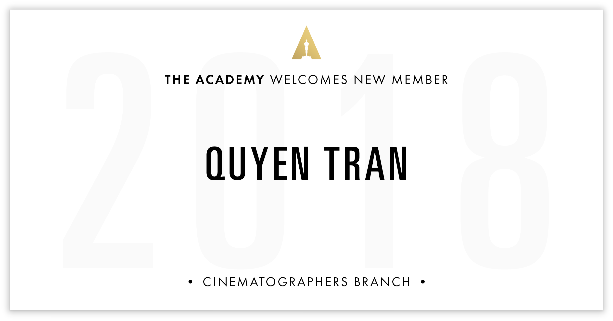 Quyen Tran is invited!