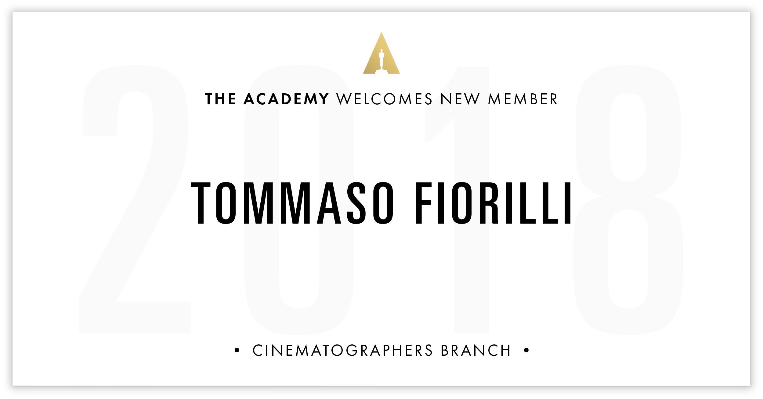 Tommaso Fiorilli is invited!