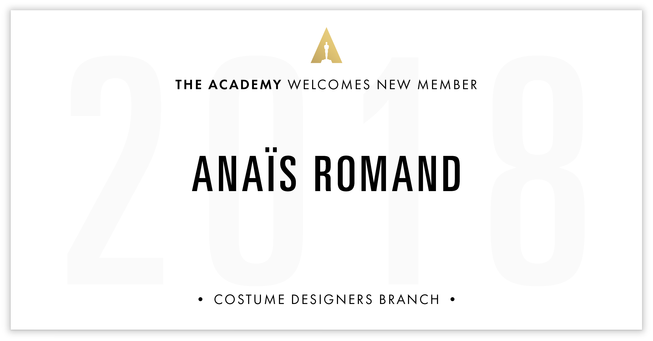 Anaïs Romand is invited!