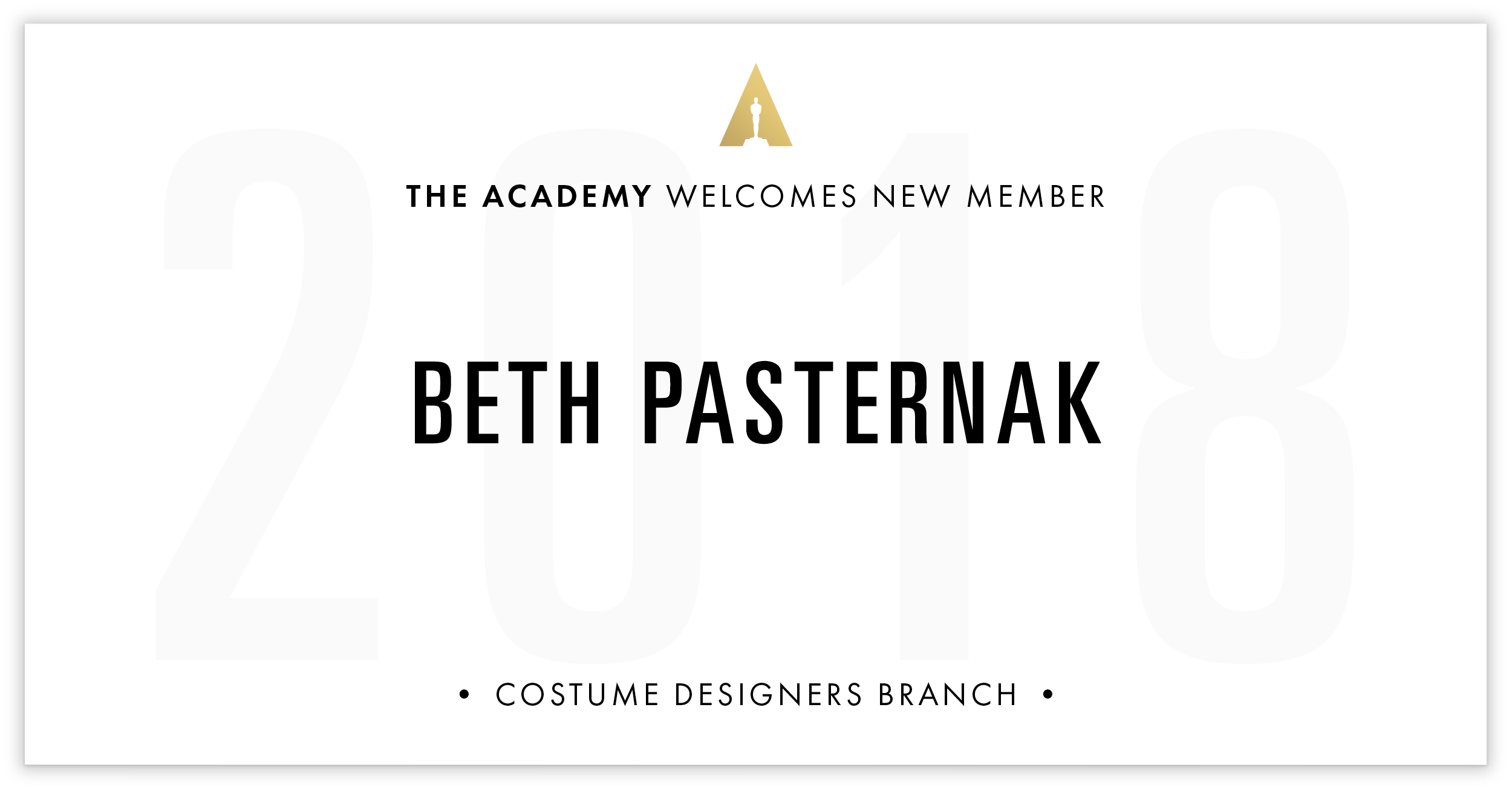 Beth Pasternak is invited!