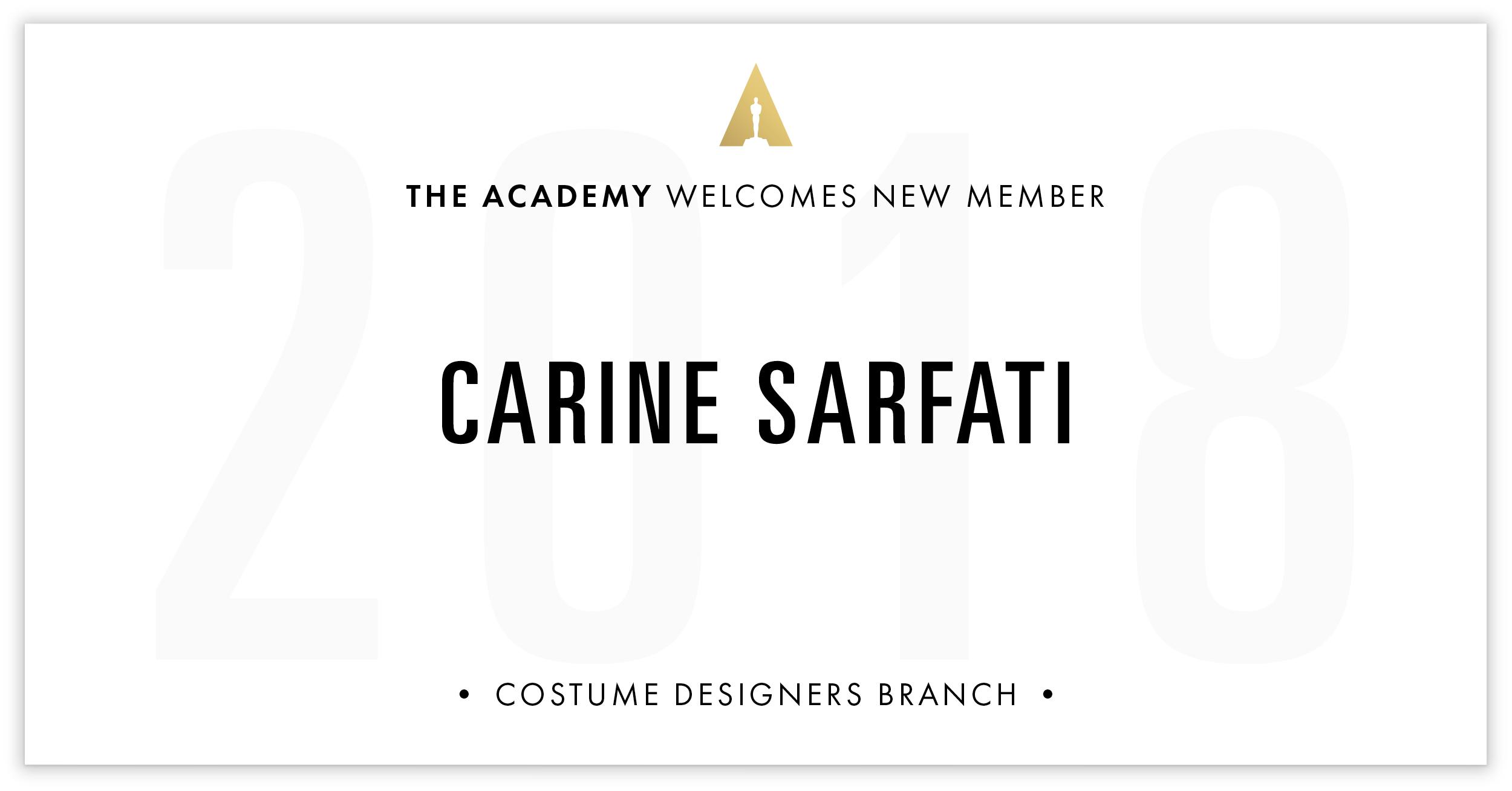 Carine Sarfati is invited!