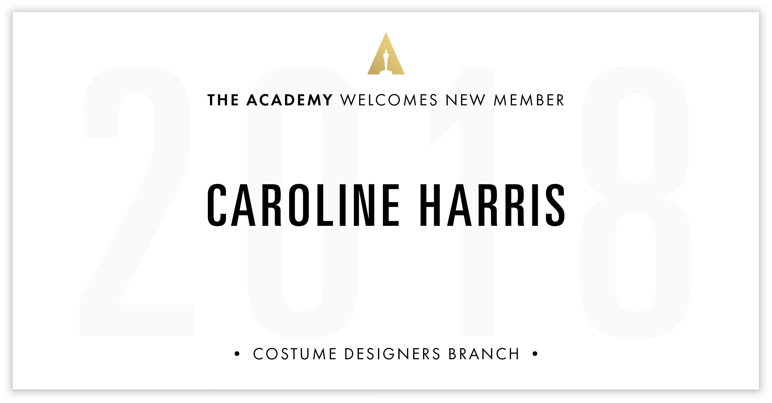 Caroline Harris is invited!