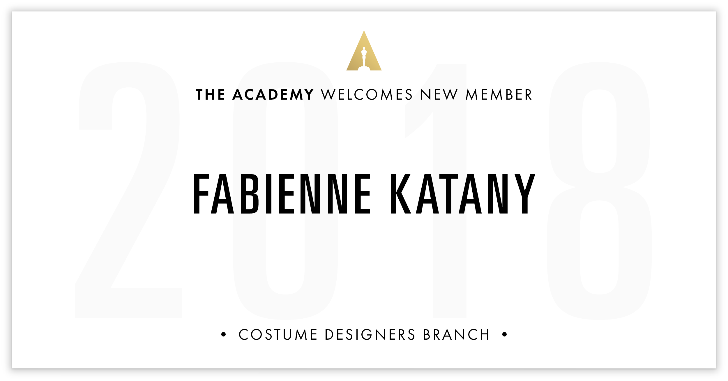 Fabienne Katany is invited!